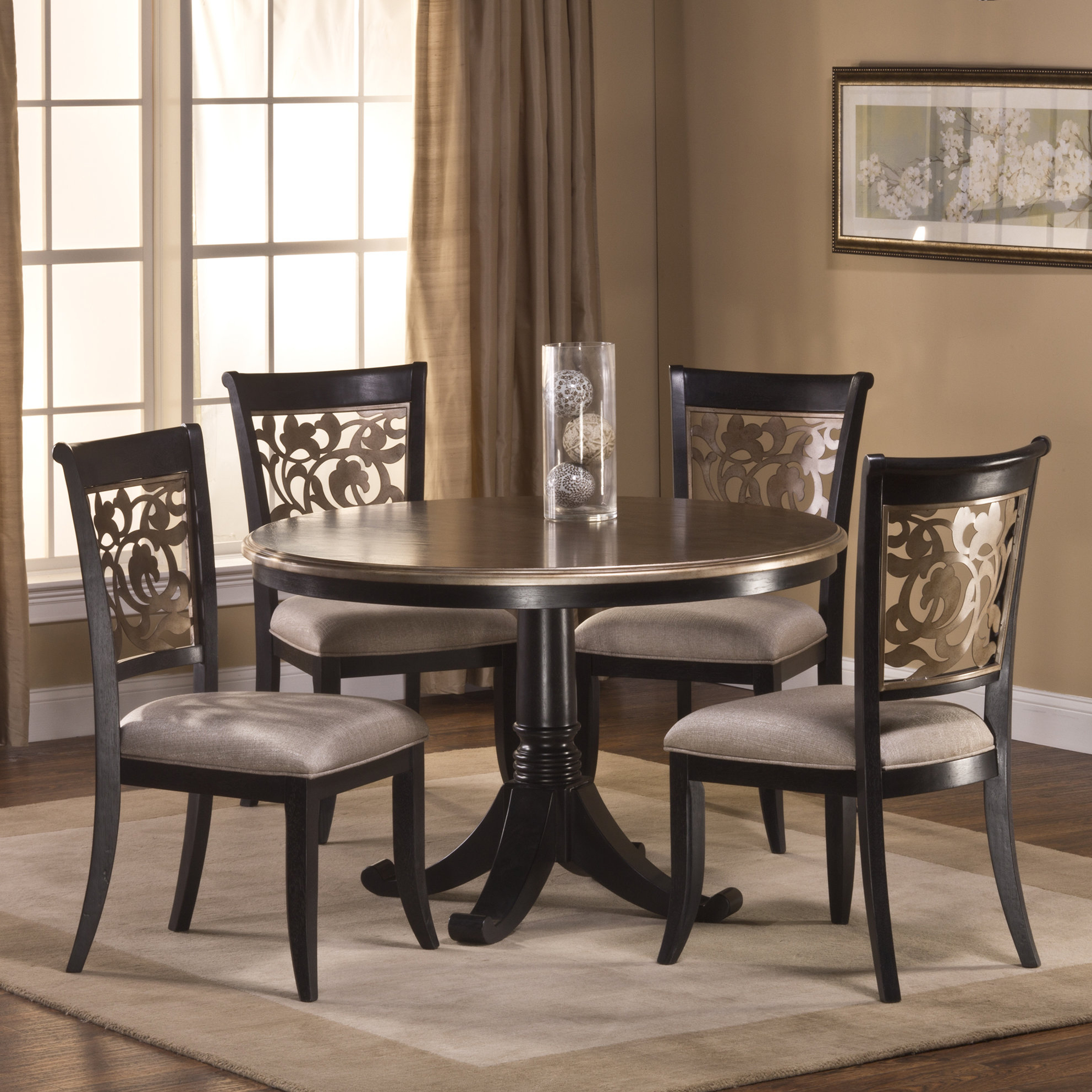 Laconia 7 Pieces Solid Wood Dining Sets (set Of 7) In Well Liked Chuckanut 5 Piece Solid Wood Dining Set (View 14 of 20)