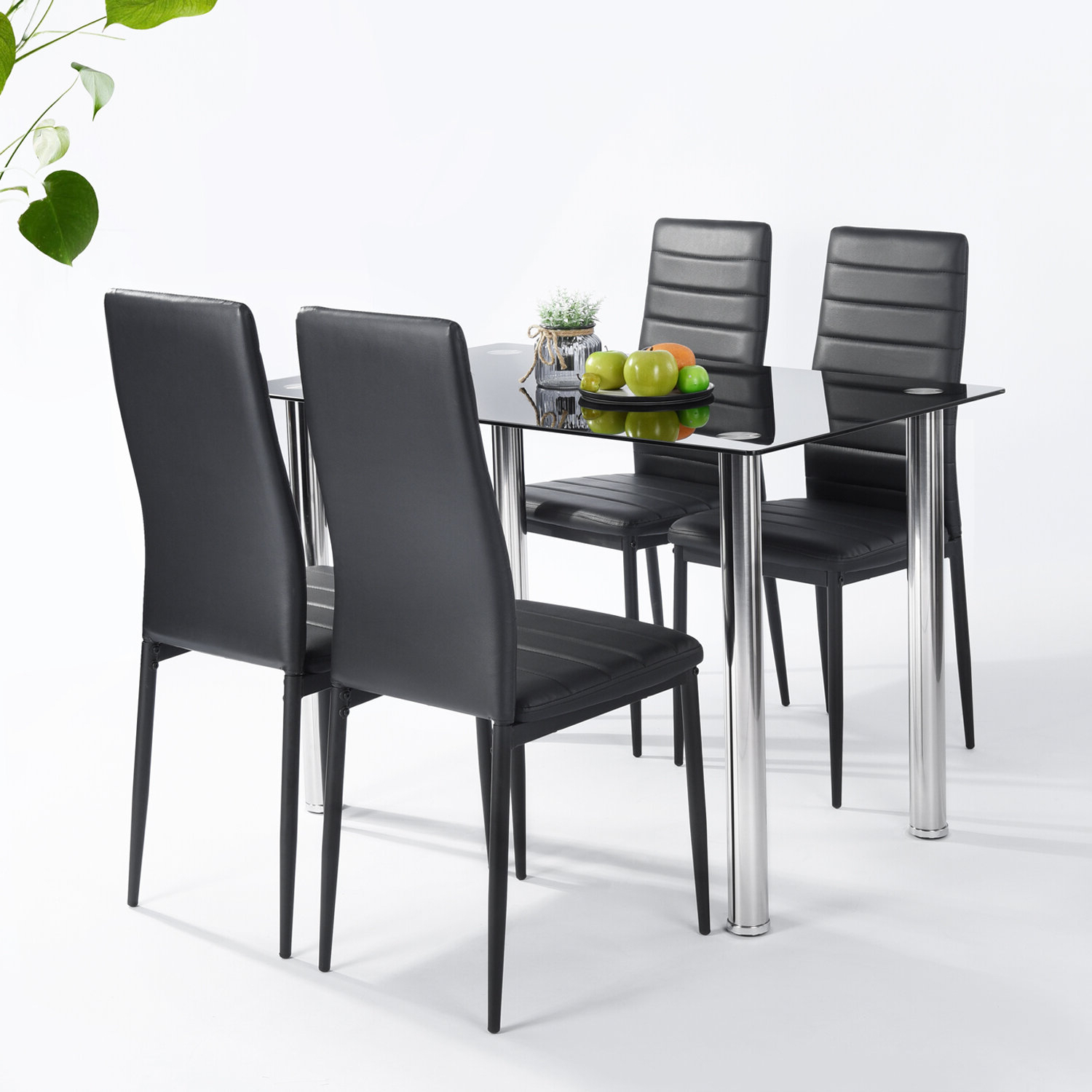 Lamotte 5 Piece Dining Set Throughout Most Recently Released Stouferberg 5 Piece Dining Sets (View 16 of 20)