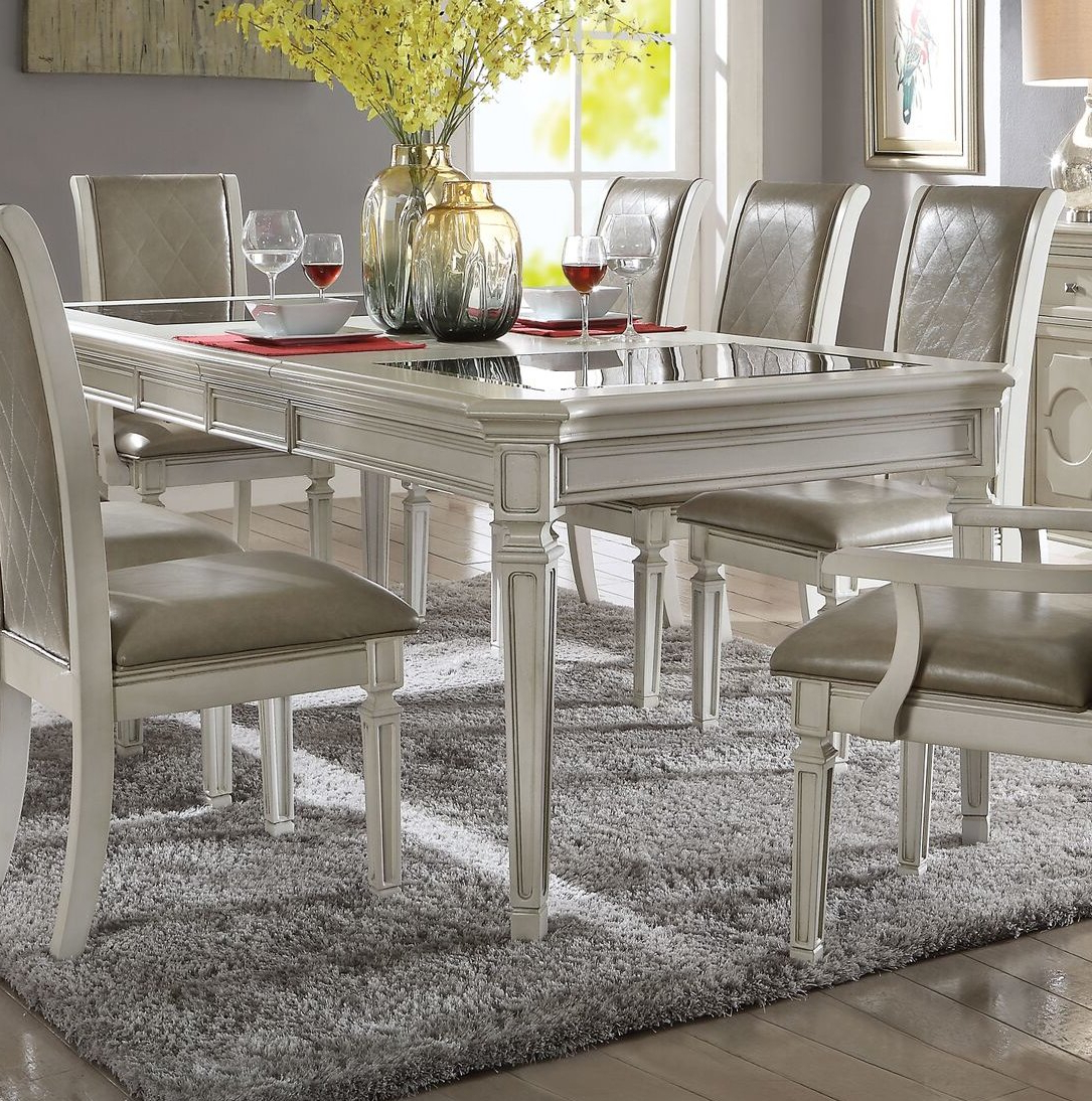 Lamotte 5 Piece Dining Sets In Widely Used Details About One Allium Way Lamotte Dining Table (Gallery 2 of 20)