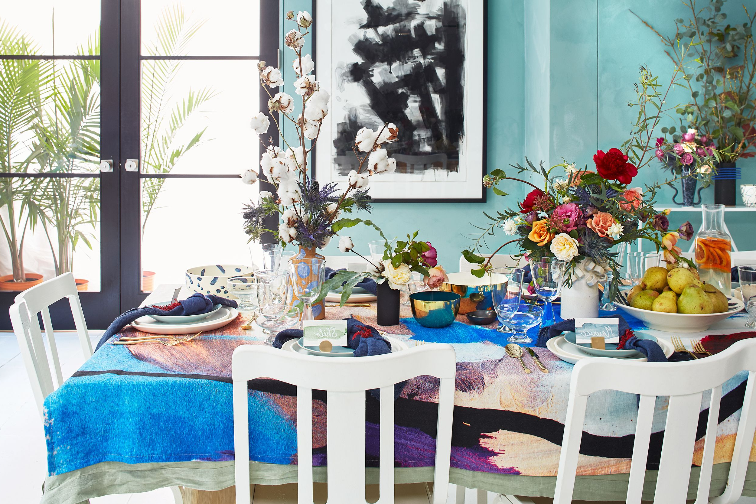 Lamotte 5 Piece Dining Sets Throughout Current 25 Beautiful Spring Table Setting Ideas – Stylish Spring Centerpieces – (View 17 of 20)