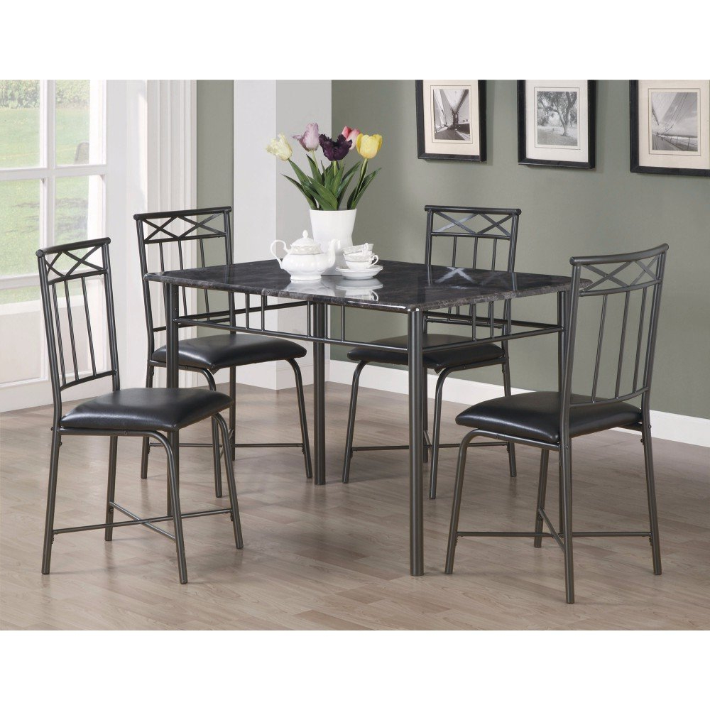 Latest Isbell 5 Piece Dining Set With Reinert 5 Piece Dining Sets (View 2 of 20)