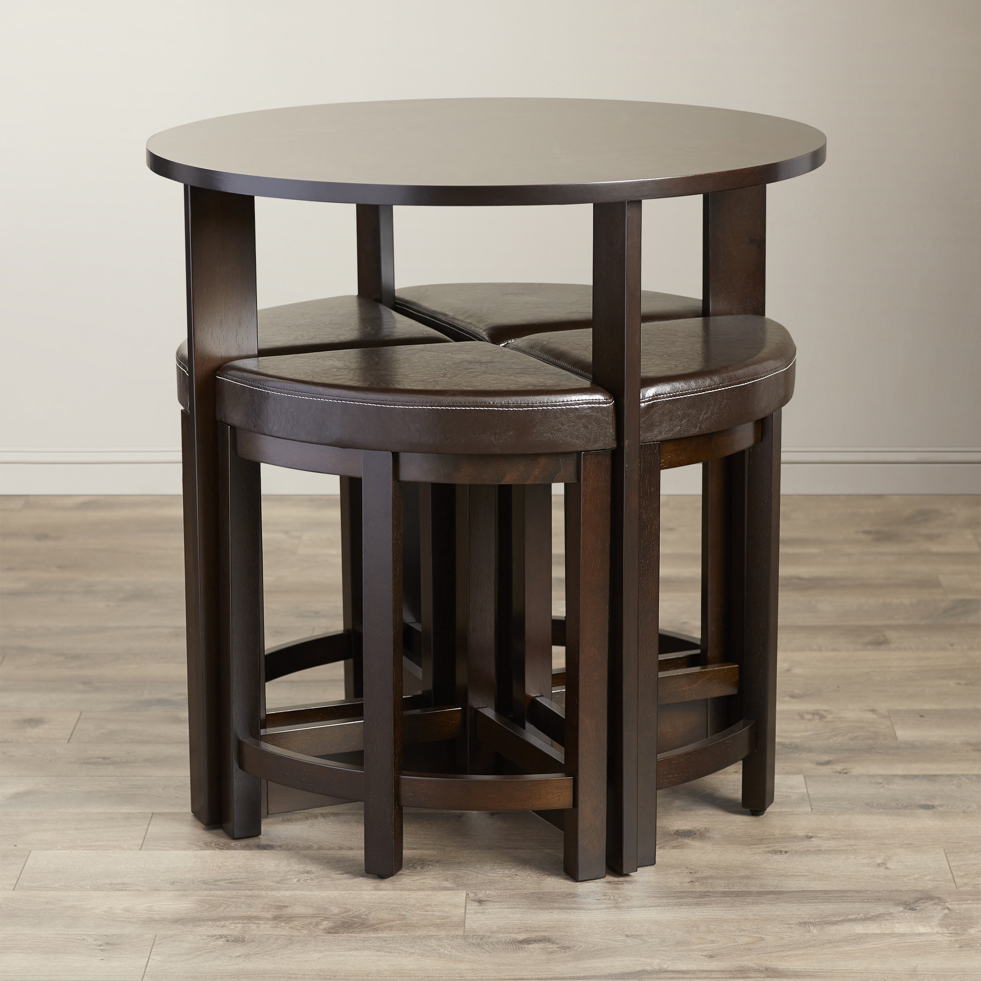 Latest Latitude Run Earleville 5 Piece Dining Table Set & Reviews (Gallery 15 of 20)
