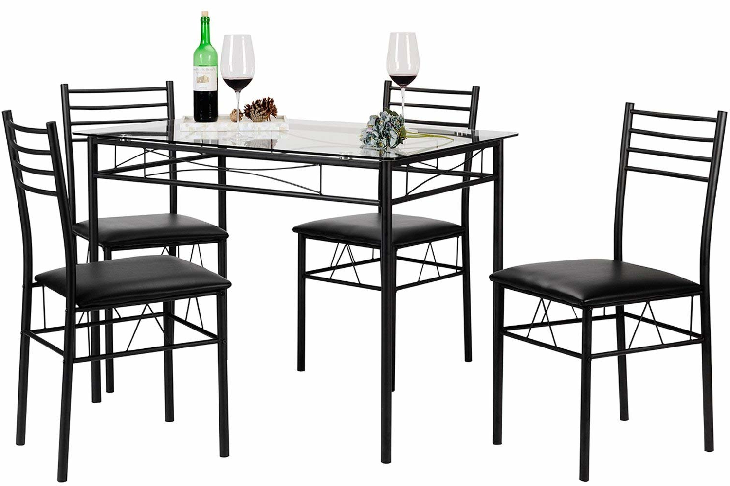 Latest North Reading 5 Piece Dining Table Sets Within Zipcode Design North Reading 5 Piece Dining Table Set (View 4 of 20)