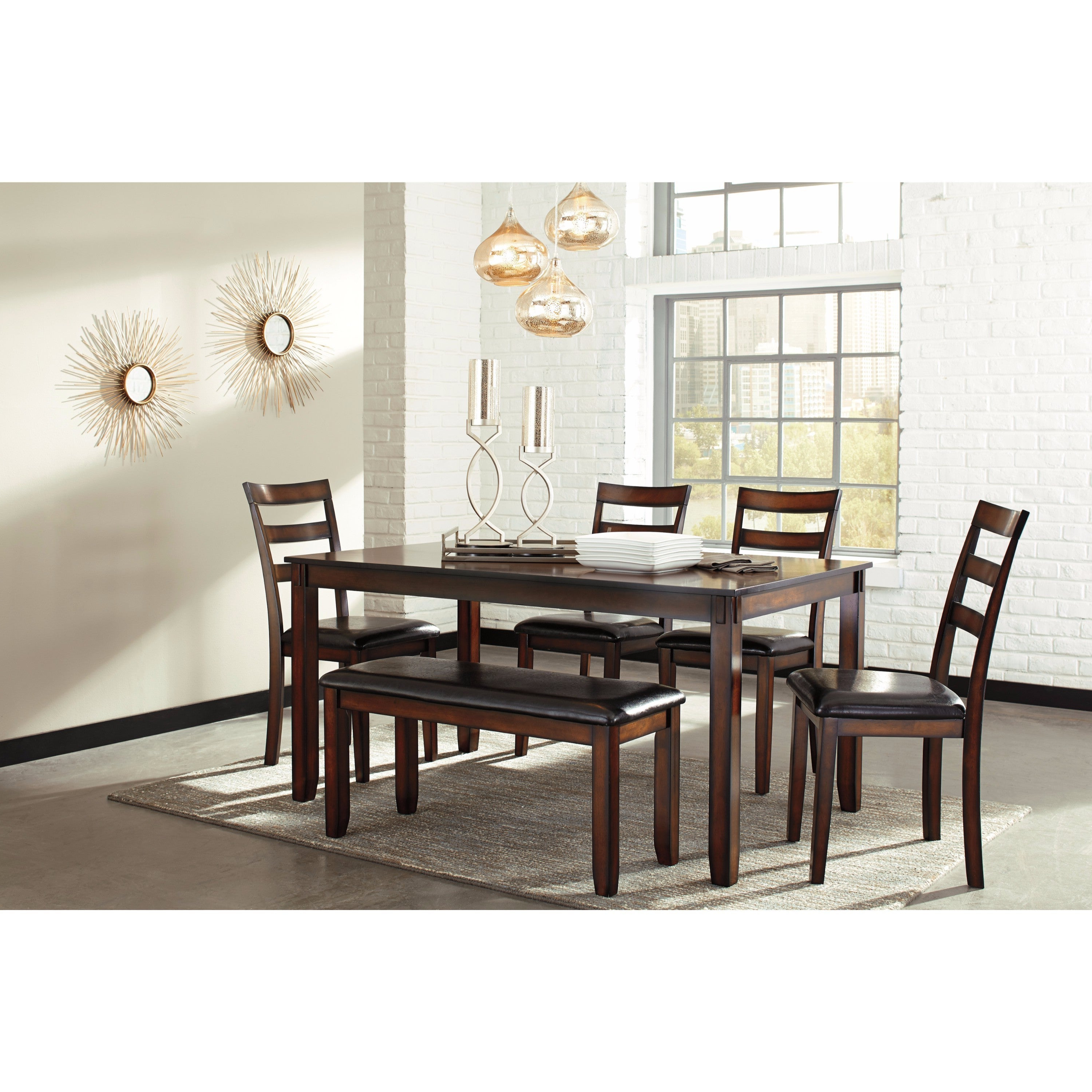 Latest Osterman 6 Piece Extendable Dining Sets (Set Of 6) Intended For Buy 6 Piece Sets Kitchen & Dining Room Sets Online At Overstock (View 3 of 20)