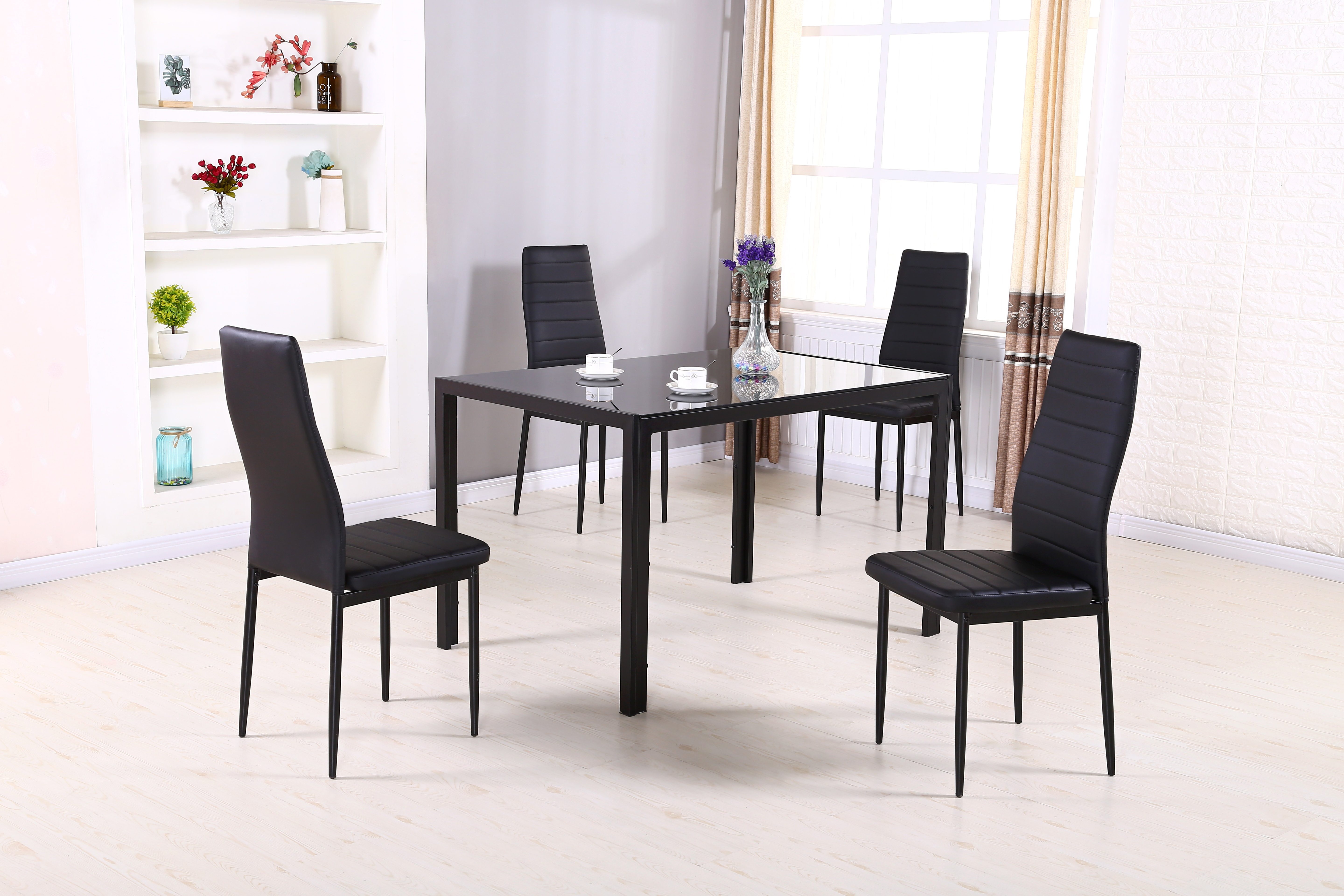 Linette 5 Piece Dining Table Sets For Famous Simonton 5 Piece Dining Set (View 5 of 20)