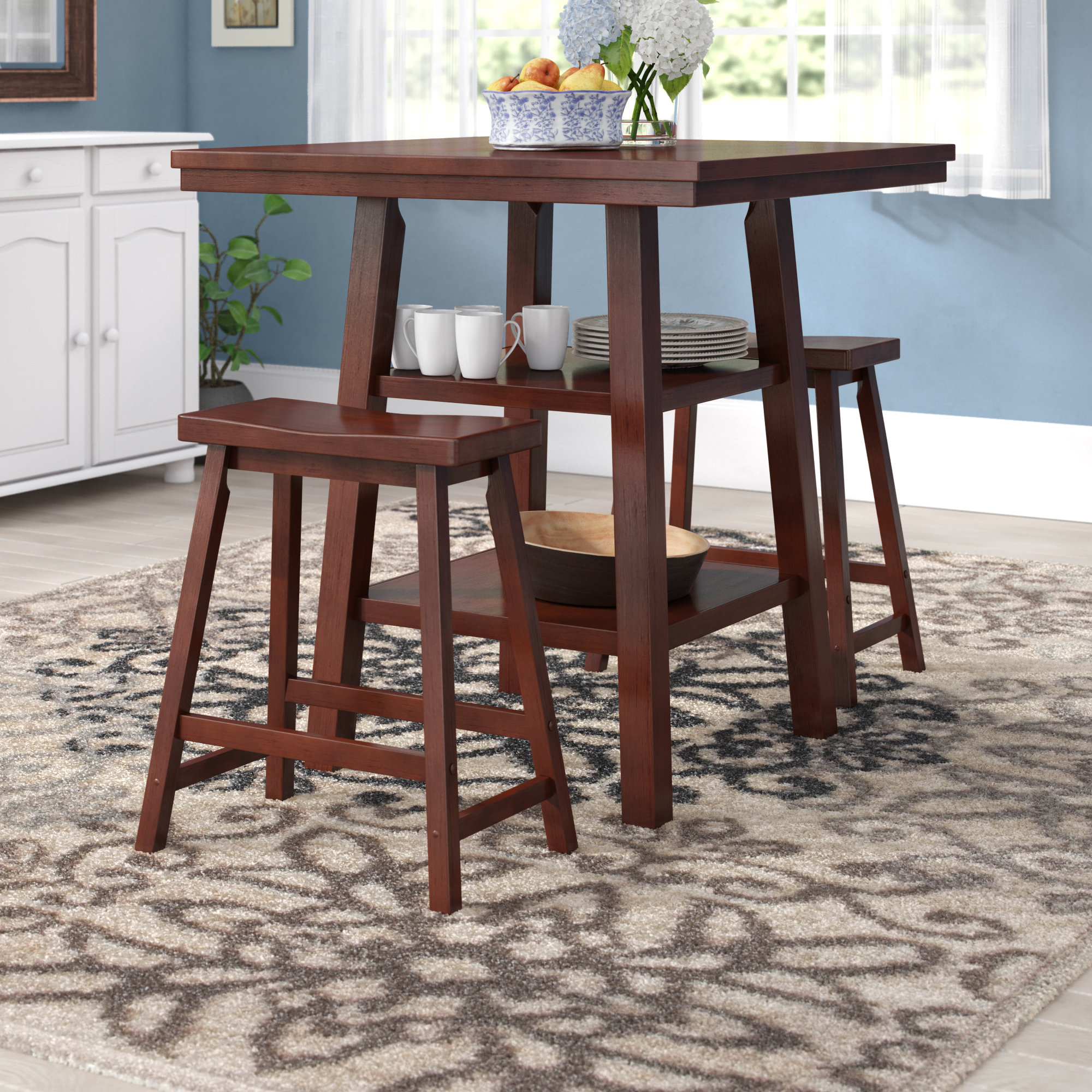 Lonon 3 Piece Dining Sets With Best And Newest Pratt Street 3 Piece Dining Set (Gallery 7 of 20)