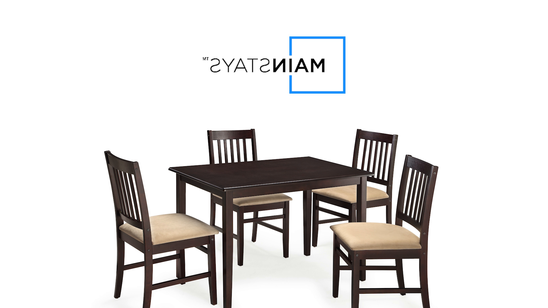 Mainstays 5 Piece Dining Set (Ms95 010 103 02) – Video Instruction Intended For Widely Used Pattonsburg 5 Piece Dining Sets (View 6 of 20)