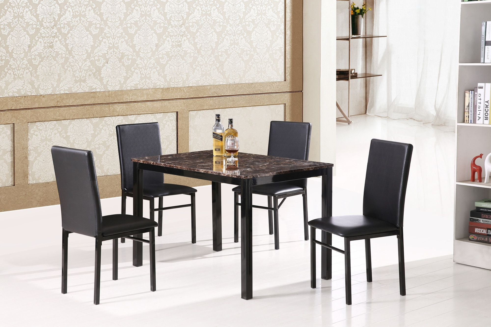 Marble Dining Table Set, Furniture (View 14 of 20)