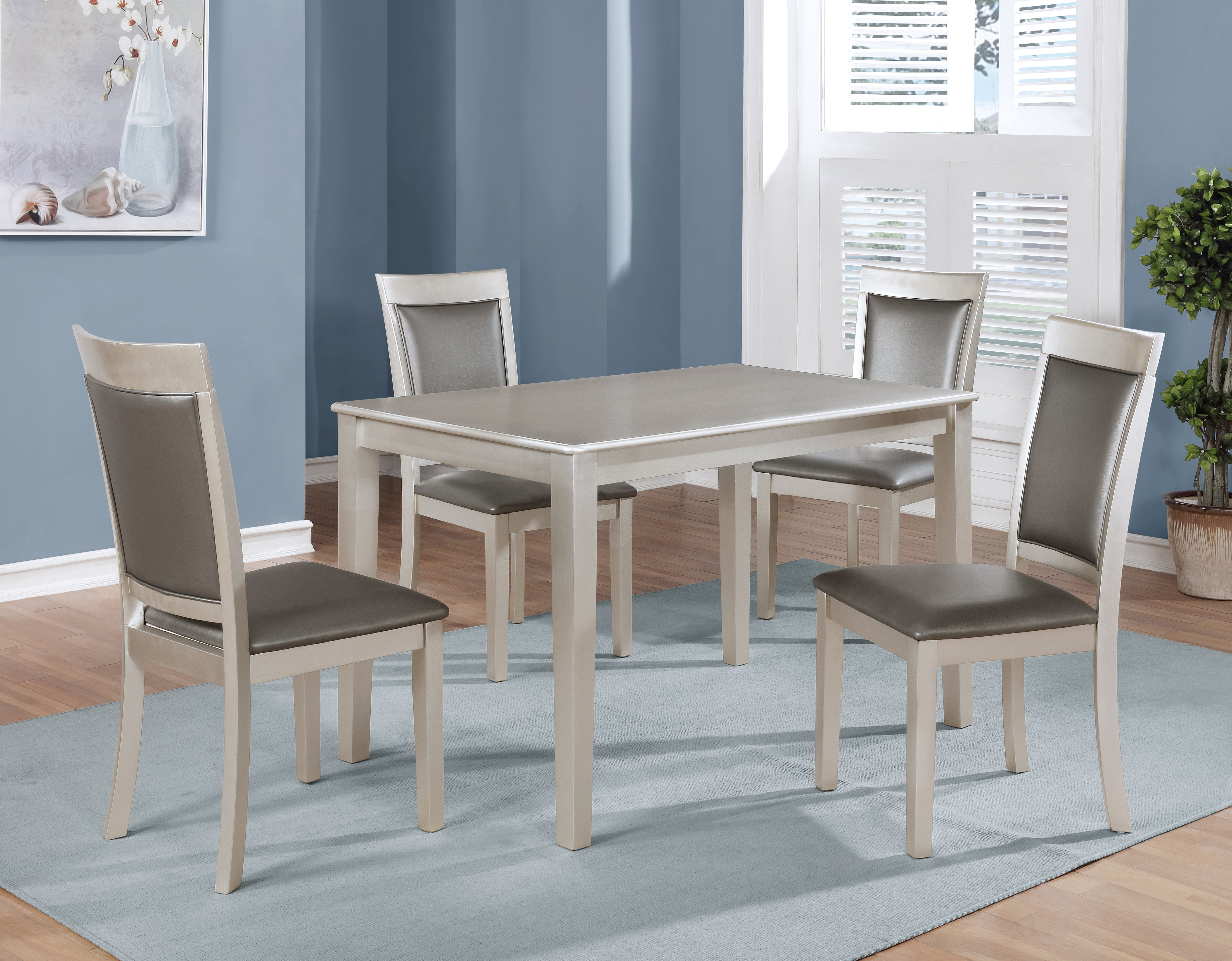 Maynard 5 Piece Dining Sets Throughout Current Kitterman 5 Piece Dining Set (View 6 of 20)