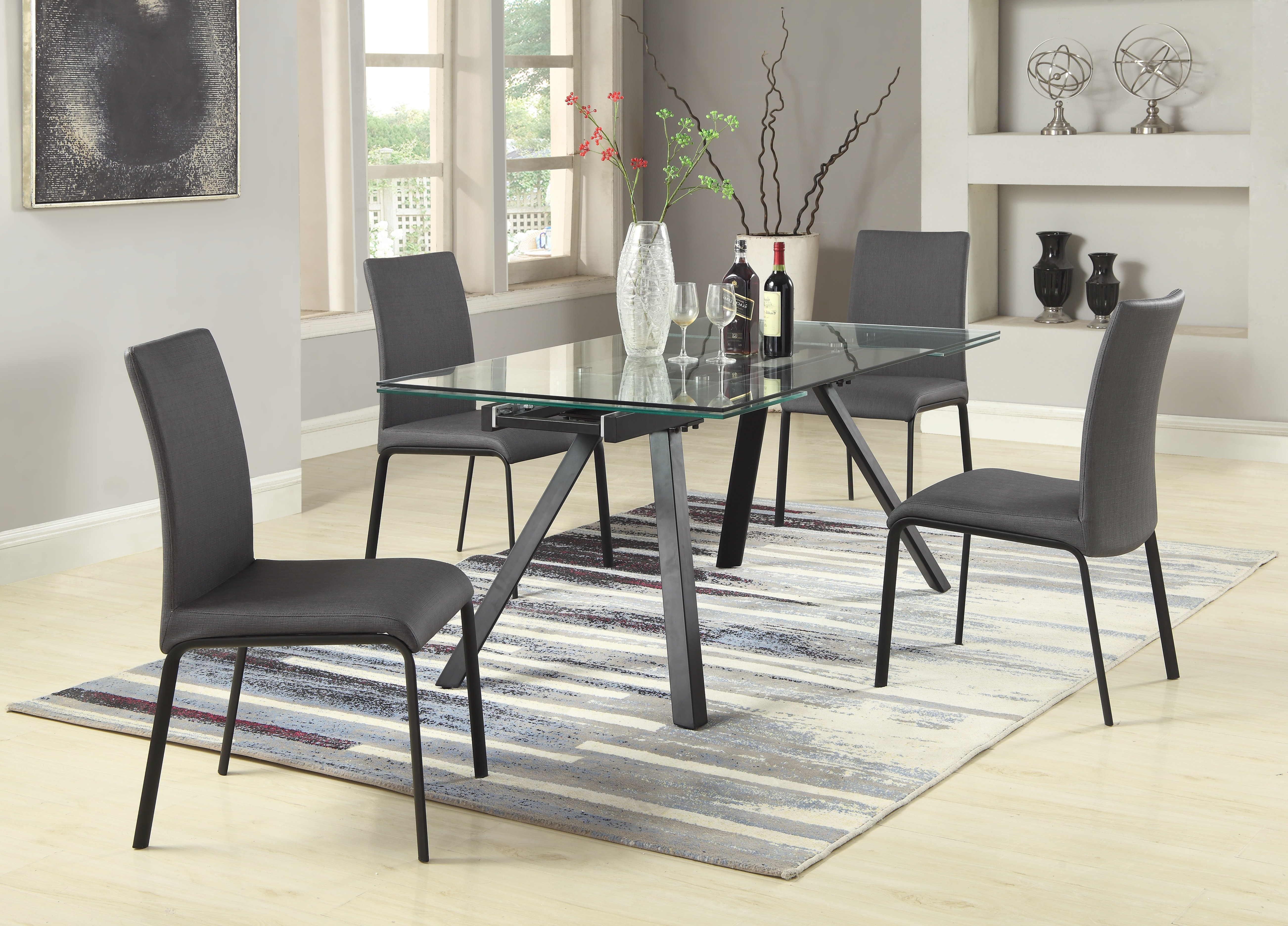 Middleport 5 Piece Dining Sets For Most Recently Released Julianne 5 Piece Extendable Dining Set (View 3 of 20)