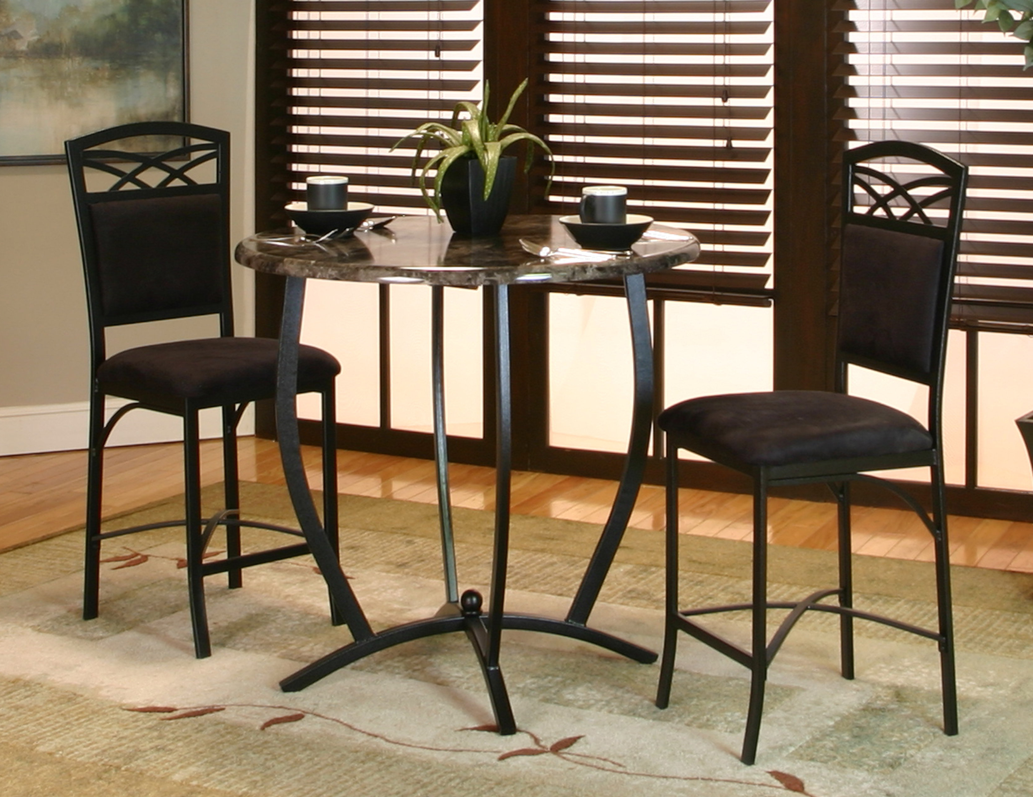 Mizpah 3 Piece Counter Height Dining Sets Inside Fashionable Jacob 3 Piece Counter Height Dining Set (View 8 of 20)