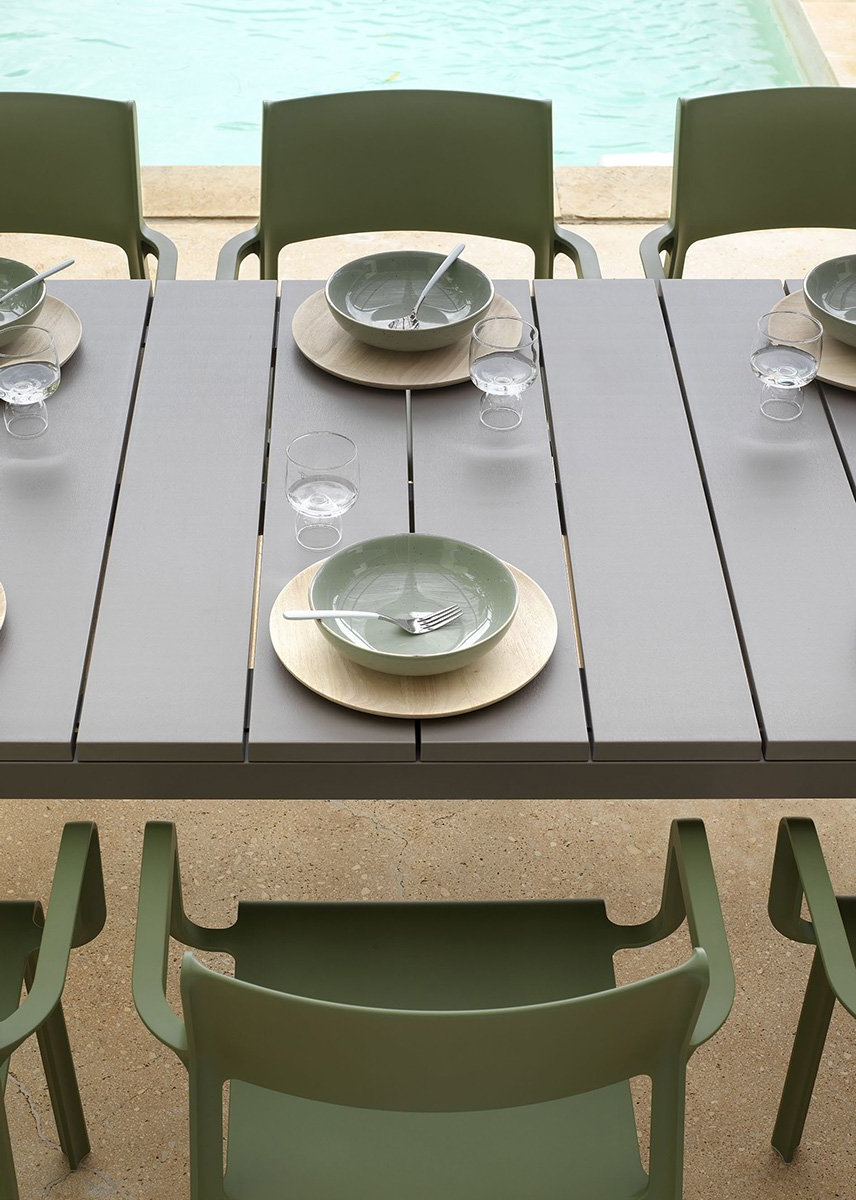 Most Current Aria 5 Piece Dining Sets Intended For Trill Rio 10 Seater Outdoor Dining Set (View 11 of 20)