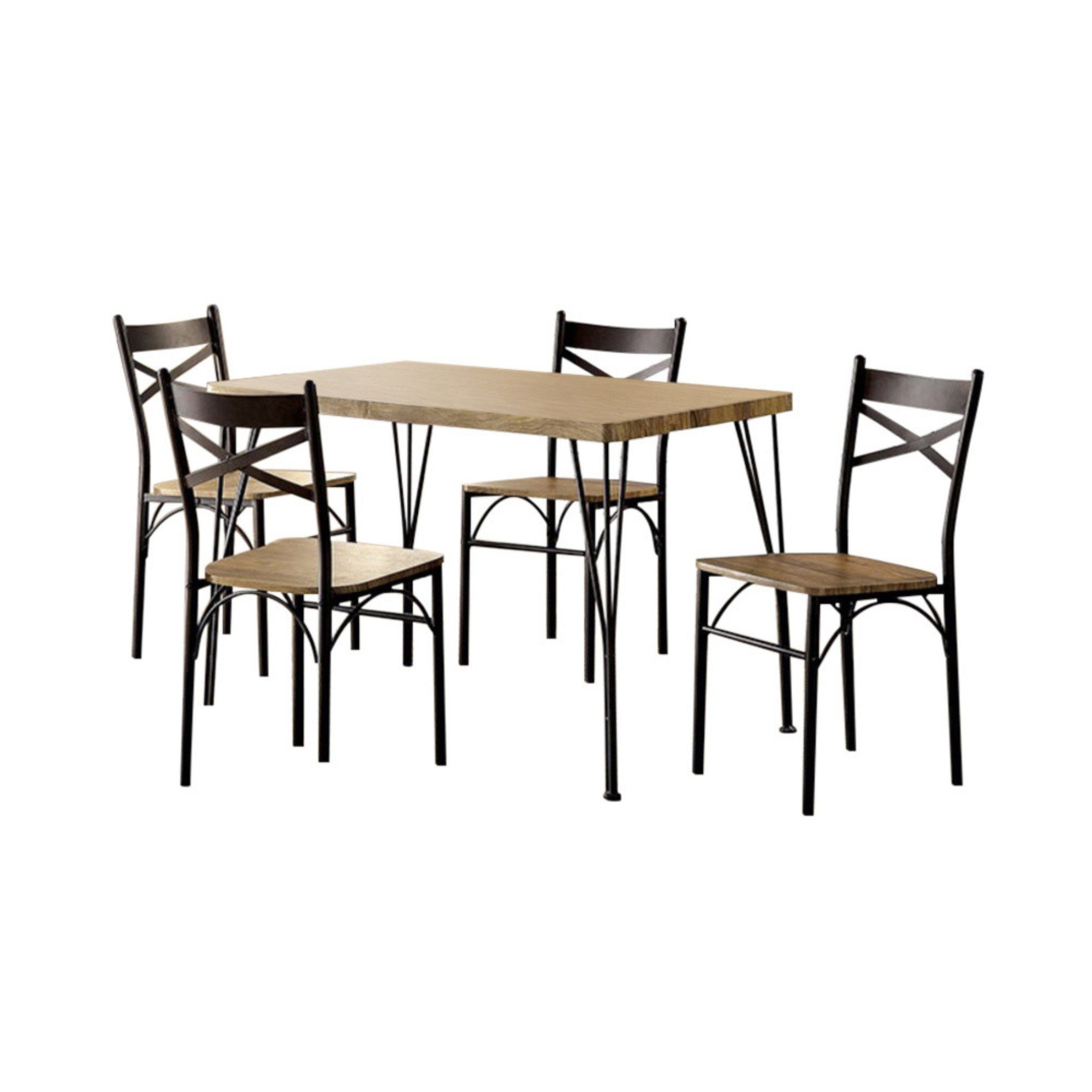 Most Current Casiano 5 Piece Dining Sets In Owasco 5 Piece Dining Set (View 5 of 20)