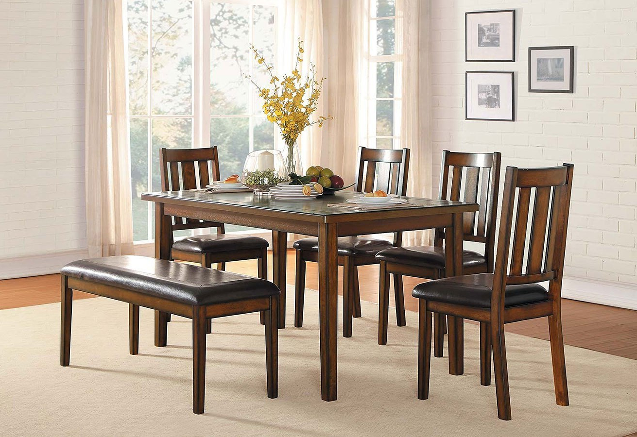 Most Current Delmar 5 Piece Dining Sets With Delmar 6 Piece Dining Room Set (View 17 of 20)