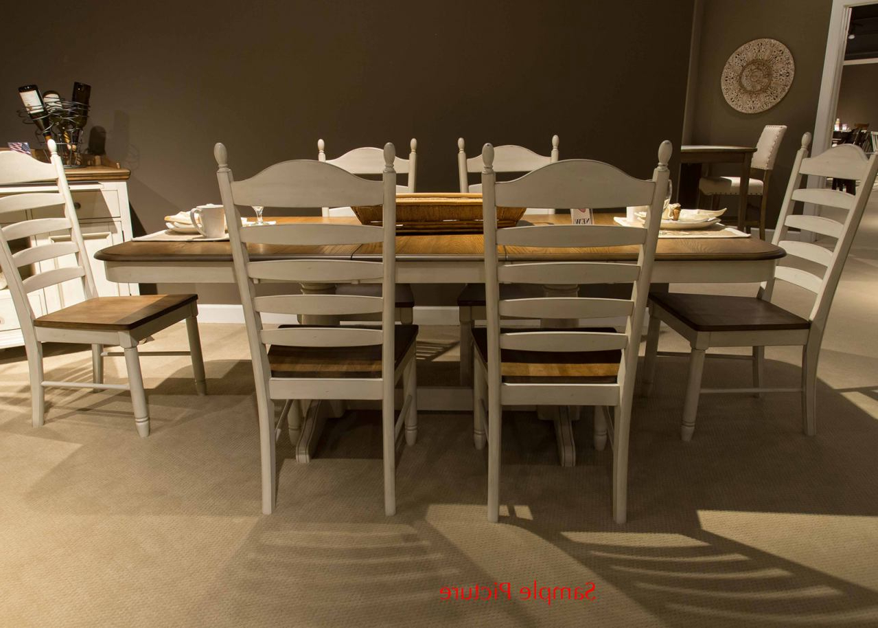 Most Current Springfield 3 Piece Dining Sets Within Liberty Furniture Springfield 7pc Double Pedestal Dining Set In Honey And Cream Est Ship Time Is 4 Weeks (View 6 of 20)