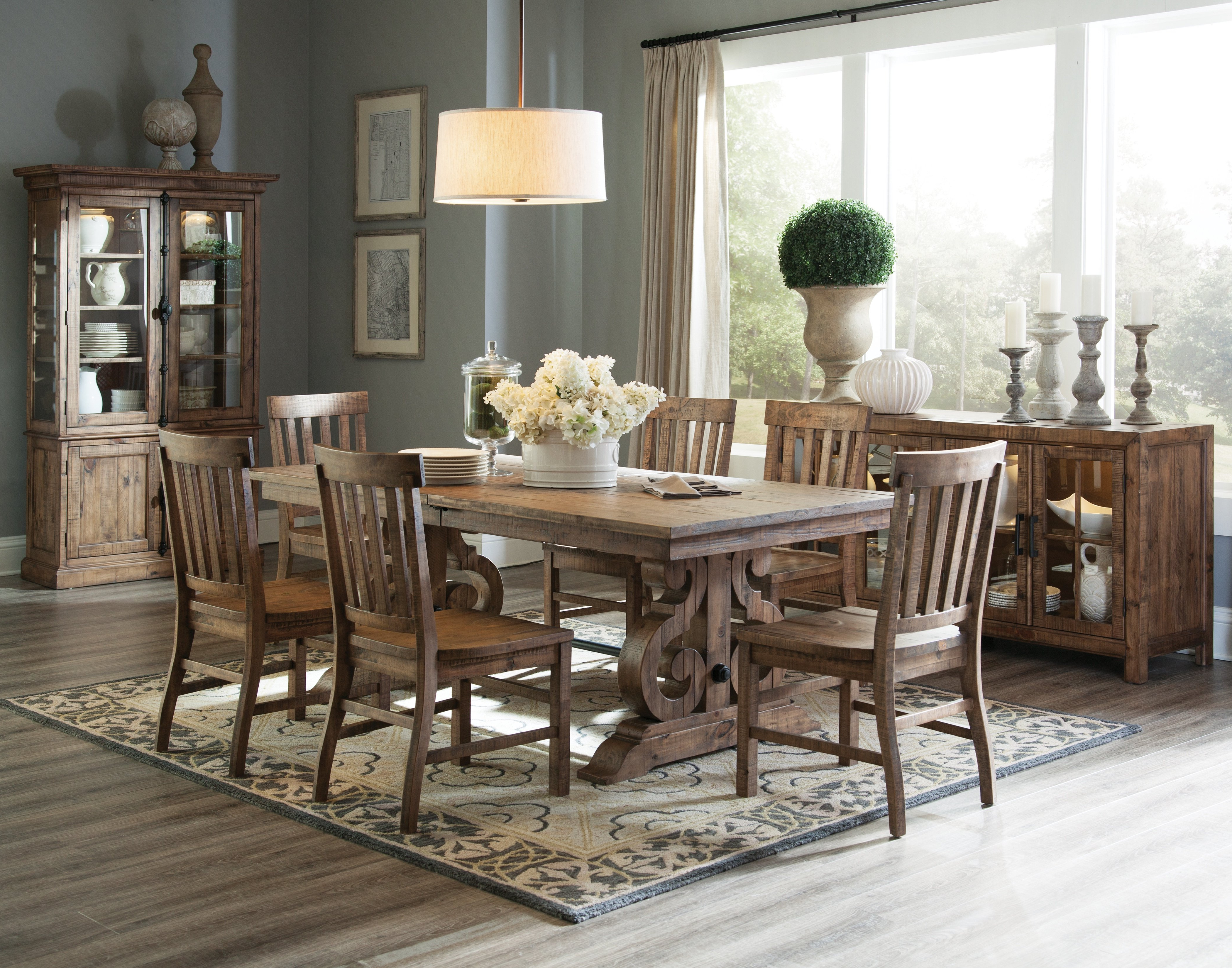 Most Popular 7 Piece Dining Set For Queener 5 Piece Dining Sets (View 4 of 20)