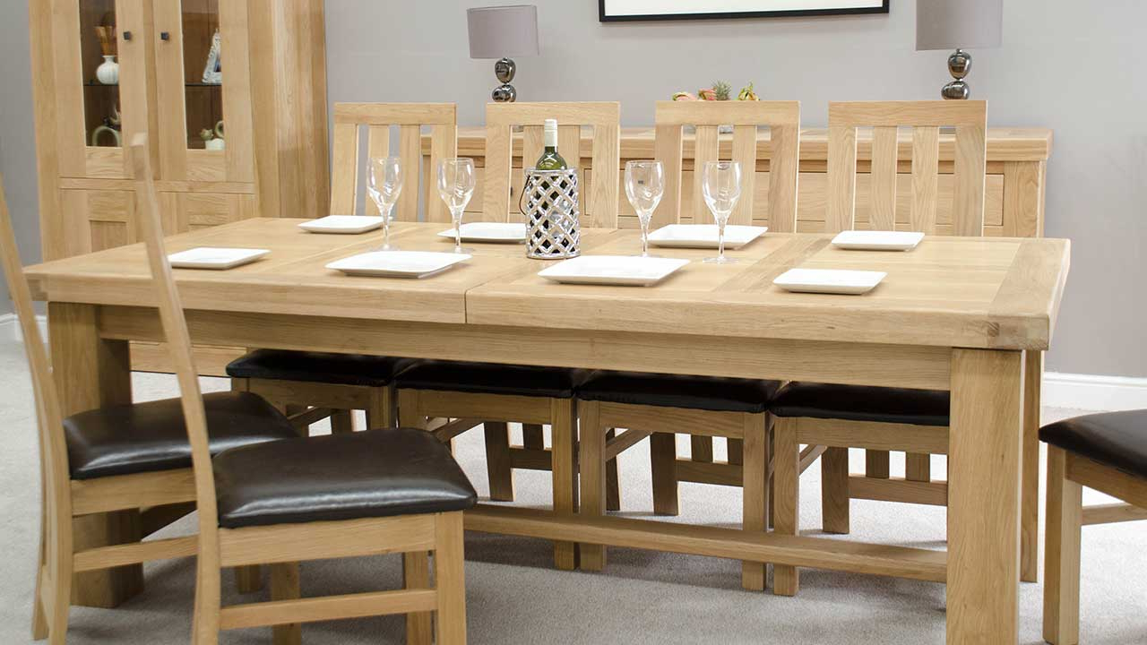 Most Popular Evellen 5 Piece Solid Wood Dining Sets (Set Of 5) In Oak Dining Room Furniture (View 14 of 20)