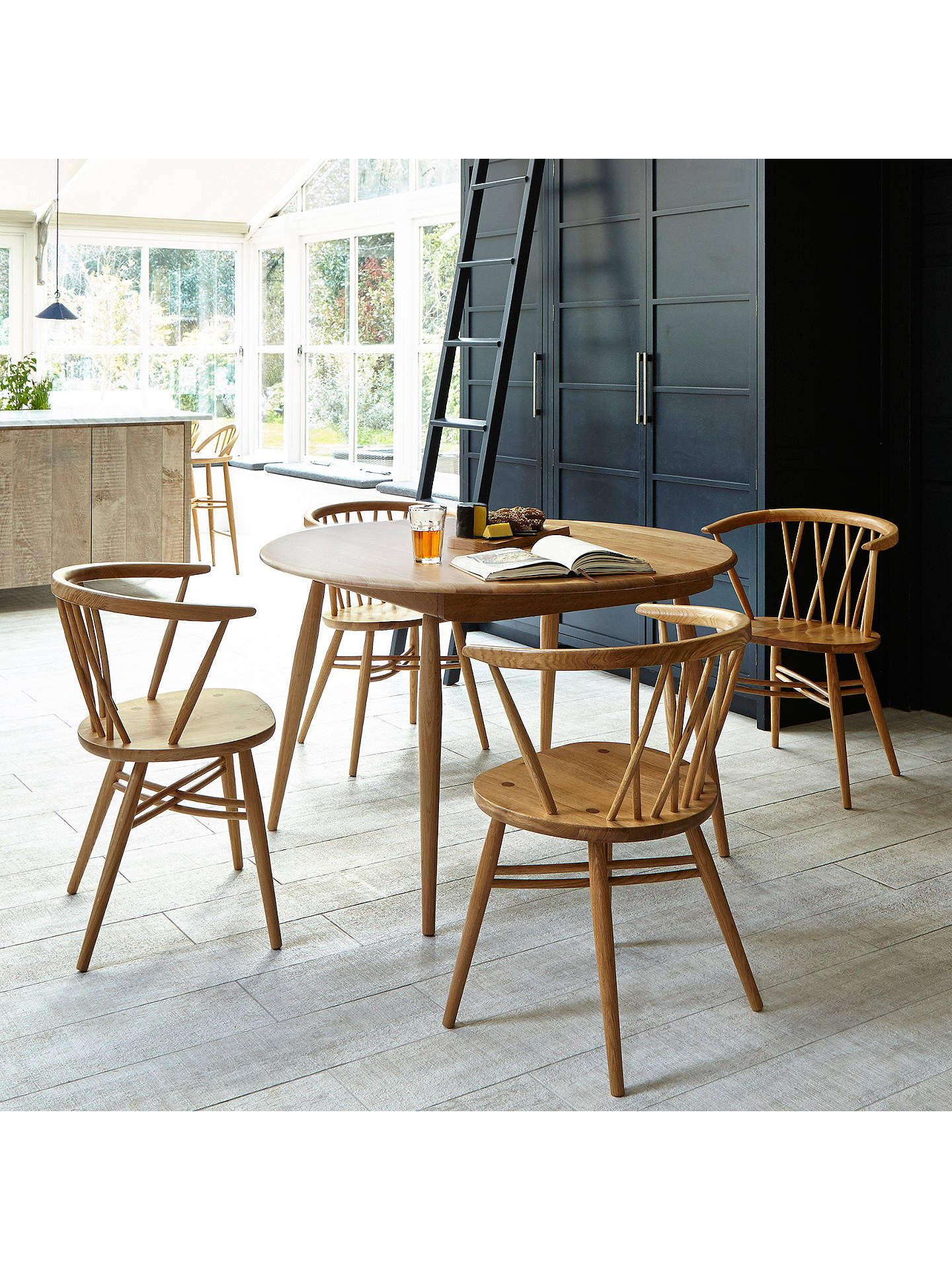Most Popular John 4 Piece Dining Sets Inside Ercol For John Lewis Shalstone 4 Seater Dining Table, Oak In  (View 15 of 20)