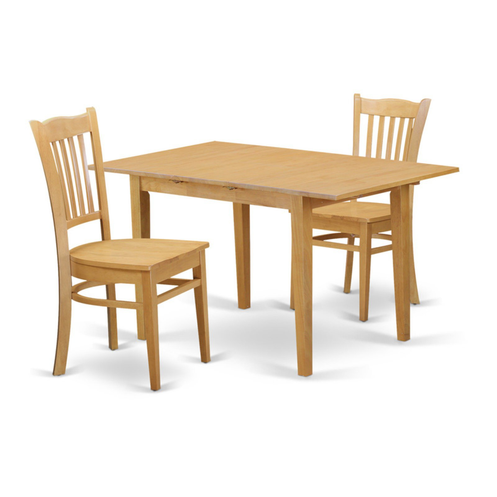 Most Popular Smyrna 3 Piece Dining Sets Intended For East West Furniture Norfolk 3 Piece Comb Back Dining Table Set In (View 6 of 20)