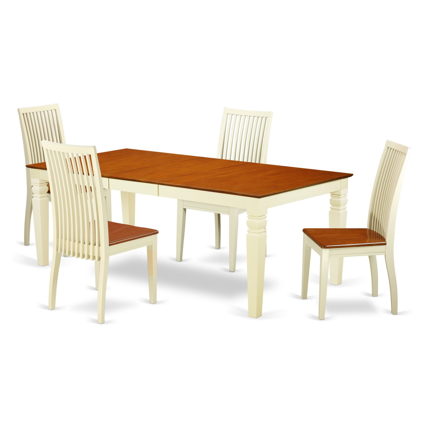 Most Popular Sundberg 5 Piece Solid Wood Dining Sets For East West Furniture Logan Lgip5 Five Piece Extension Dining Table (View 13 of 20)