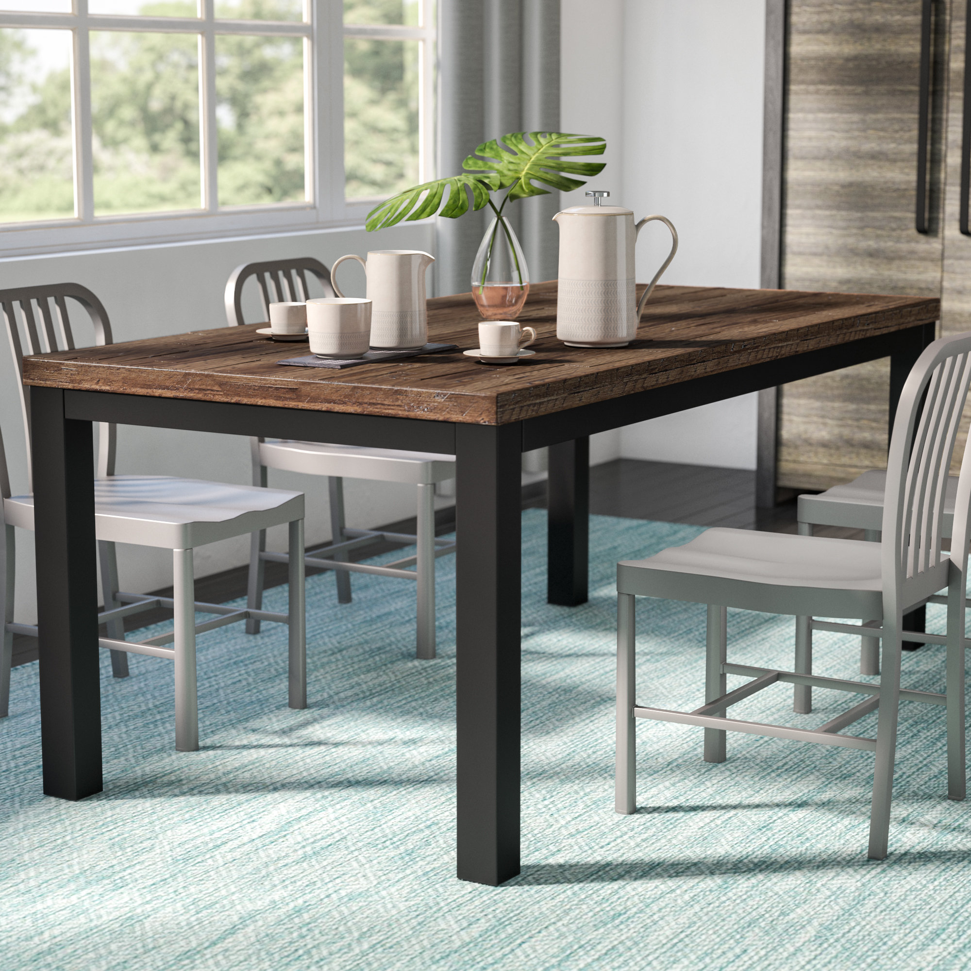 Most Recent Langley 5 Piece Dining Set Intended For Pattonsburg 5 Piece Dining Sets (View 7 of 20)