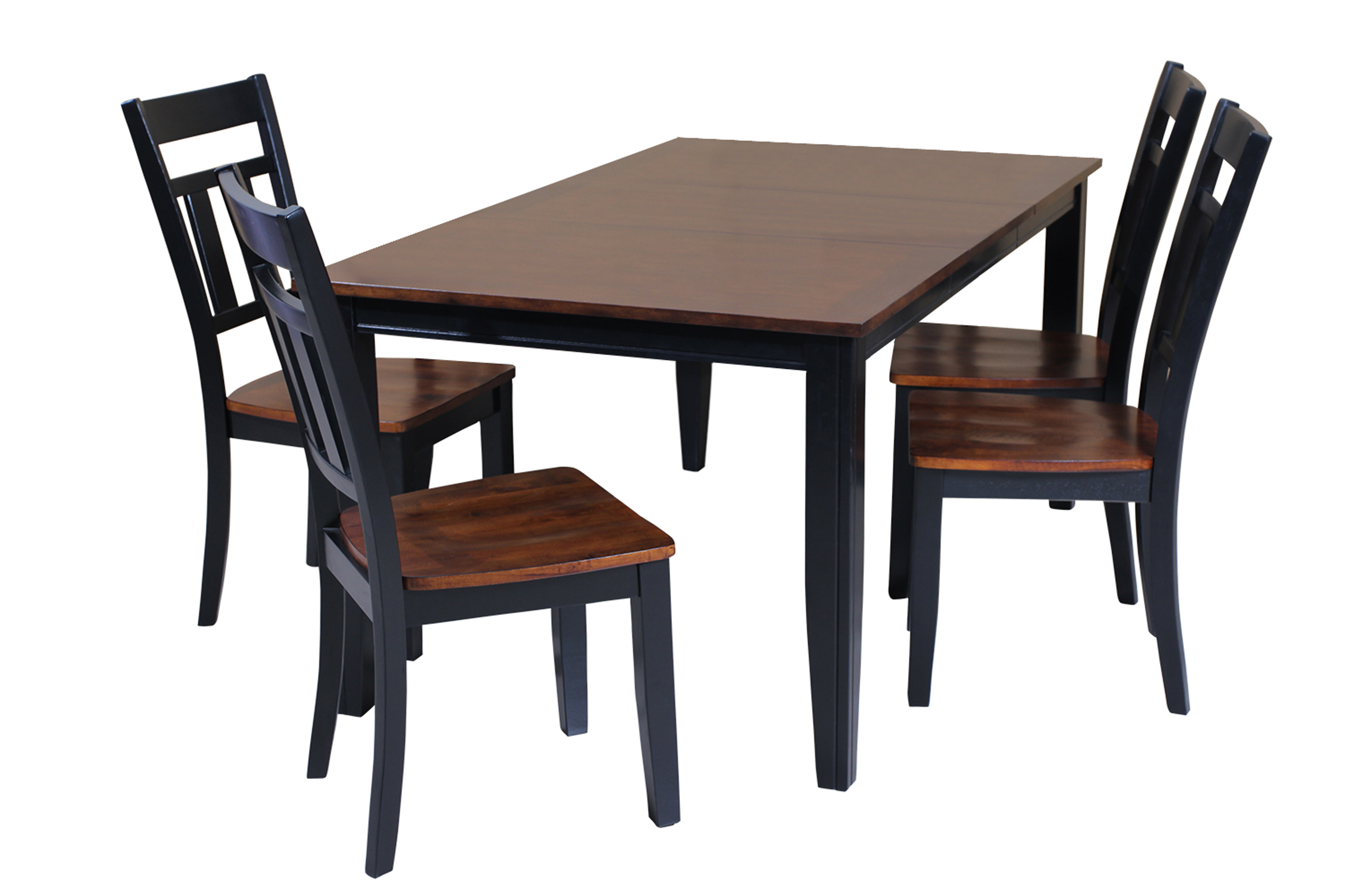 Most Recent Ttp Furnish Intended For Adan 5 Piece Solid Wood Dining Sets (Set Of 5) (View 17 of 20)