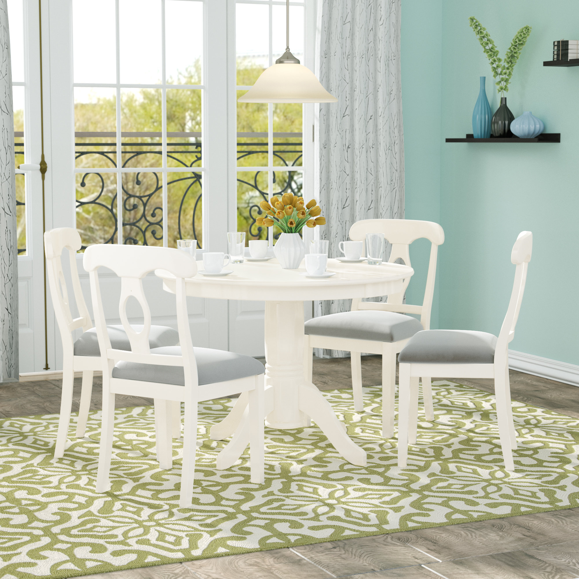 Most Up To Date Adda 5 Piece Dining Set In Pattonsburg 5 Piece Dining Sets (View 11 of 20)