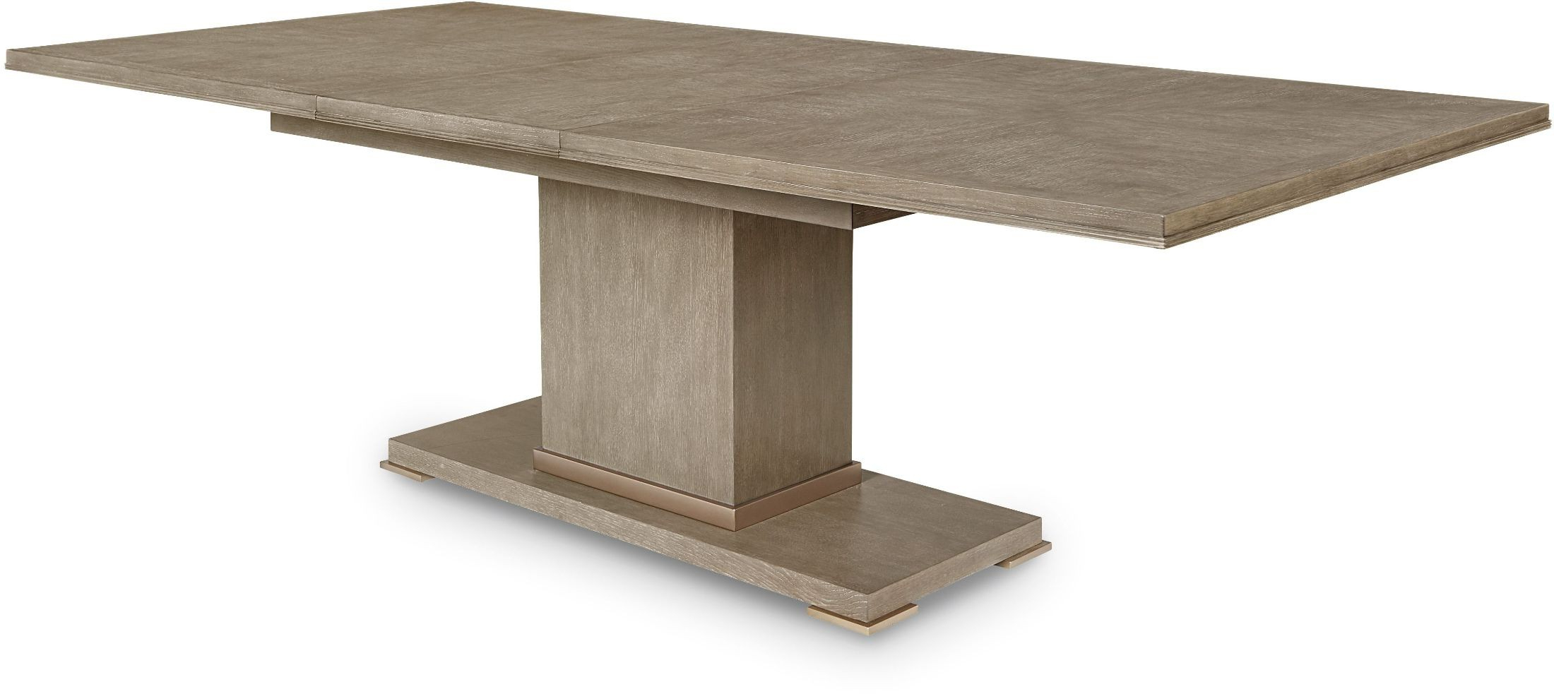 Most Up To Date Bedfo 3 Piece Dining Sets With Cityscapes Stone Bedford Rectangular Dining Table (View 20 of 20)