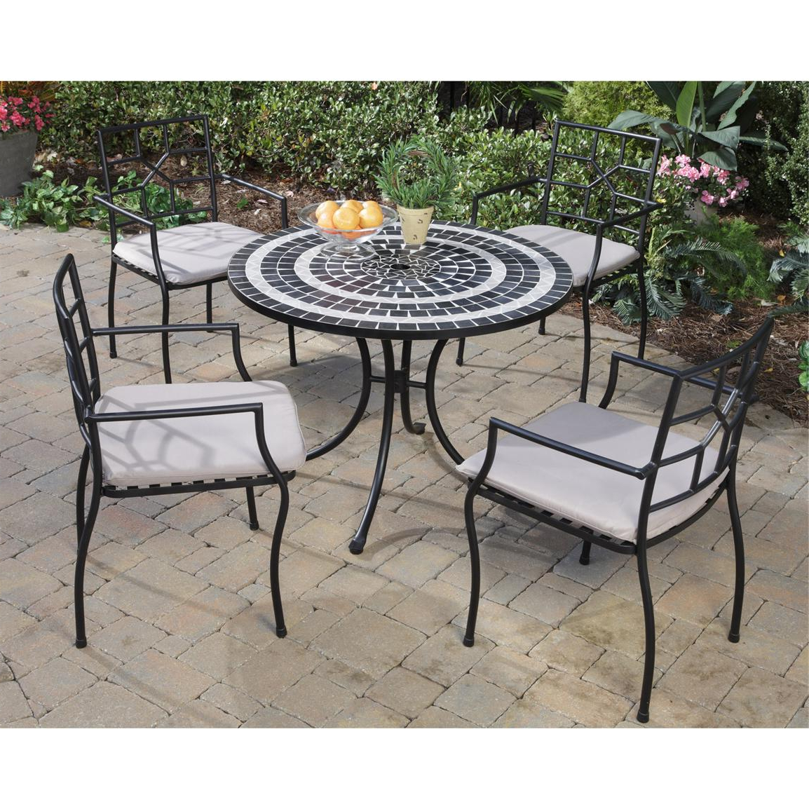 Most Up To Date Delmar 5 Piece Dining Sets Regarding 5 – Pc (View 19 of 20)