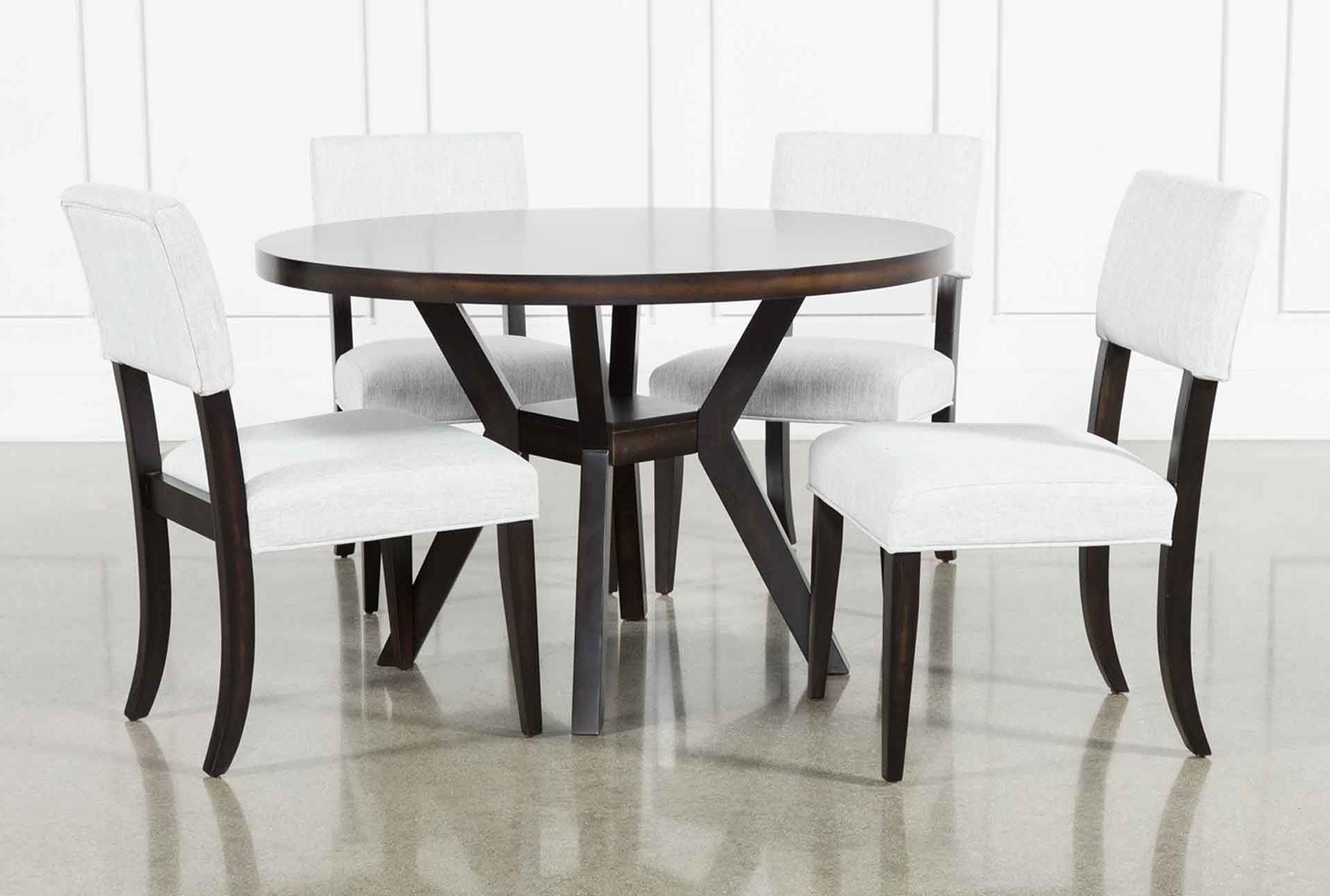 Most Up To Date Jarrod 5 Piece Dining Sets With Regard To Macie Black 5 Piece Dining Set In  (View 18 of 20)