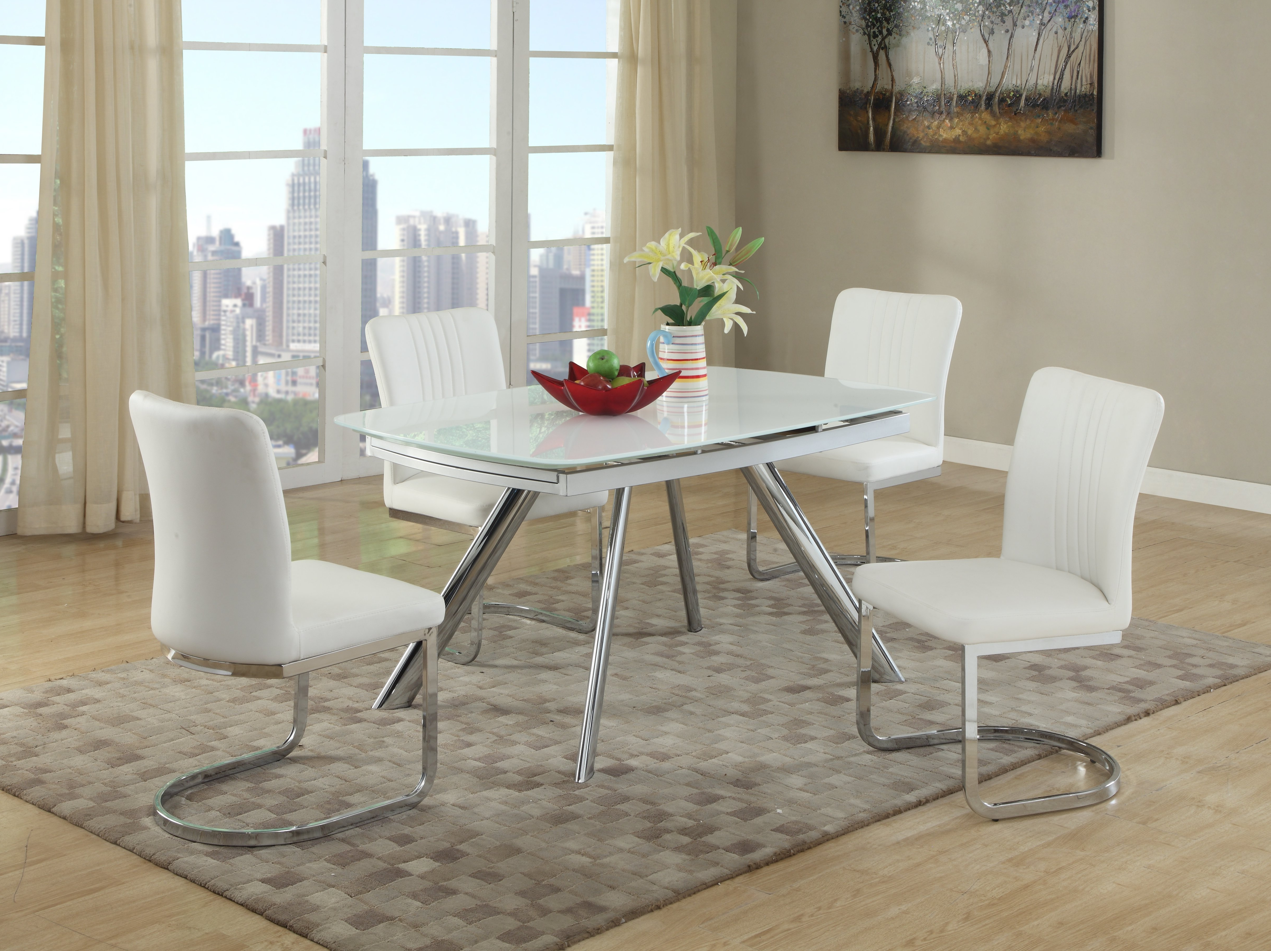Most Up To Date Linette 5 Piece Dining Table Sets Within Deann 5 Piece Dining Set (View 2 of 20)