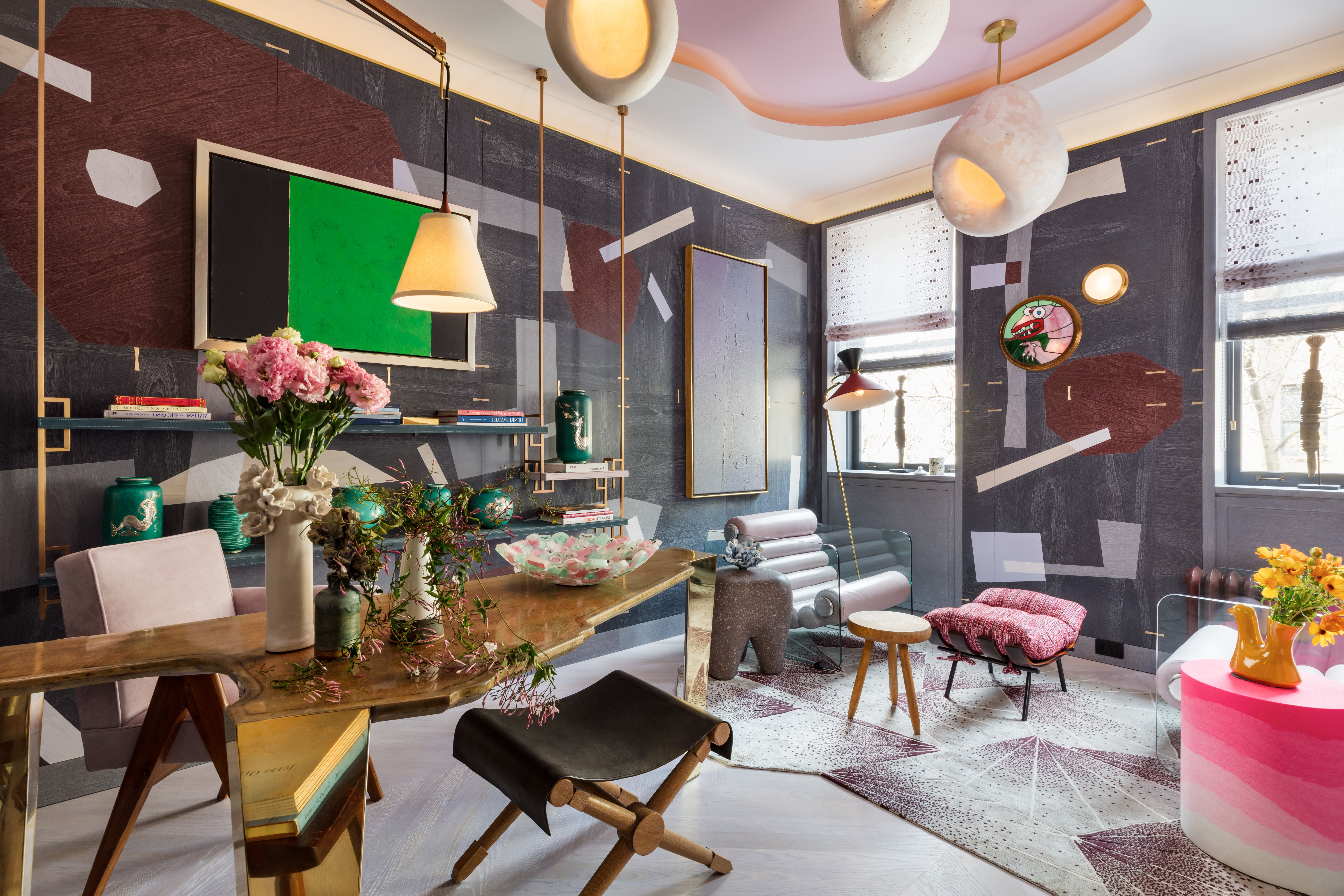 Most Up To Date Presson 3 Piece Counter Height Dining Sets With Regard To Take A First Look Inside The 2019 Kips Bay Decorator Show House (View 19 of 20)
