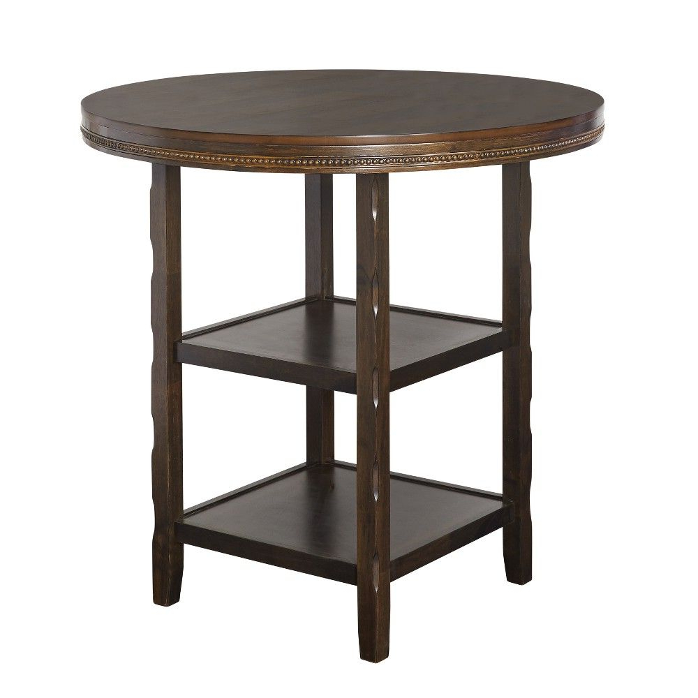 Most Up To Date Tara Pub Table Brown – Buylateral (View 12 of 20)