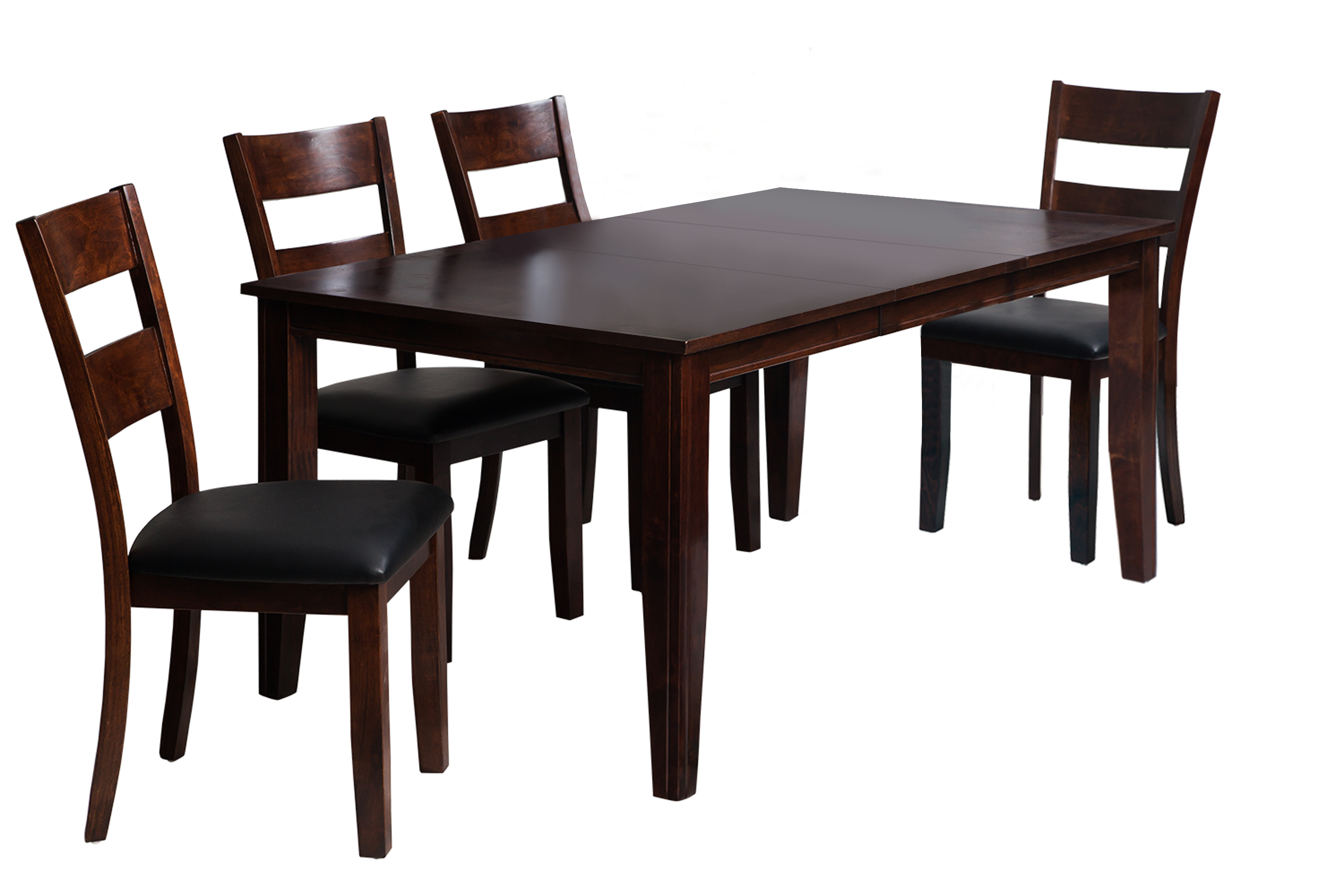 Most Up To Date Ttp Furnish Within Adan 5 Piece Solid Wood Dining Sets (Set Of 5) (View 18 of 20)