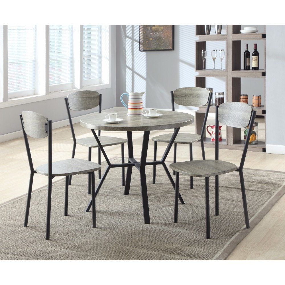 Mulvey 5 Piece Dining Sets Within 2017 Details About Williston Forge Merrifield 5 Piece Round Dining Set (View 16 of 20)
