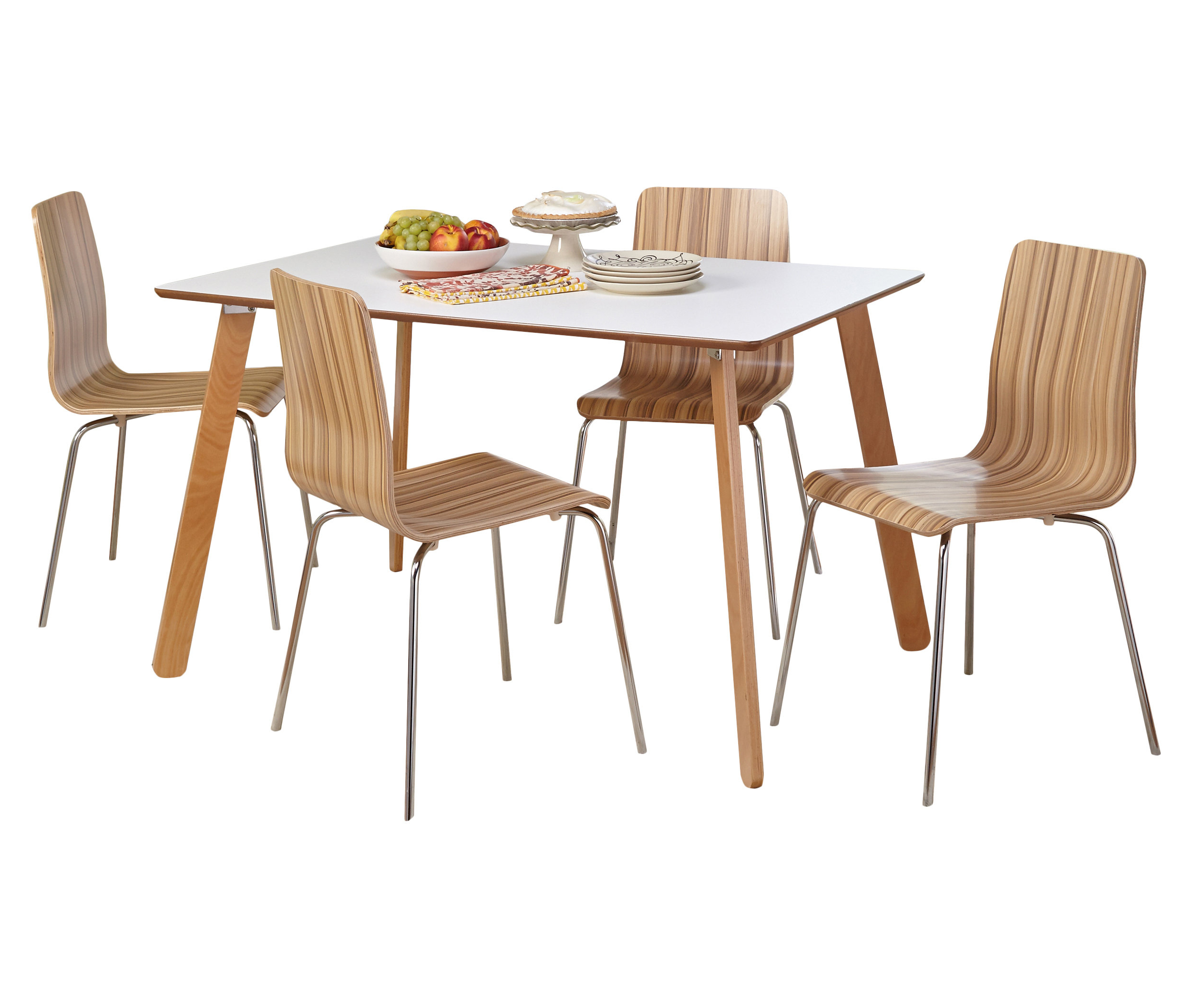 Newest Tejeda 5 Piece Dining Sets In Jaqueline 5 Piece Dining Set (View 11 of 20)