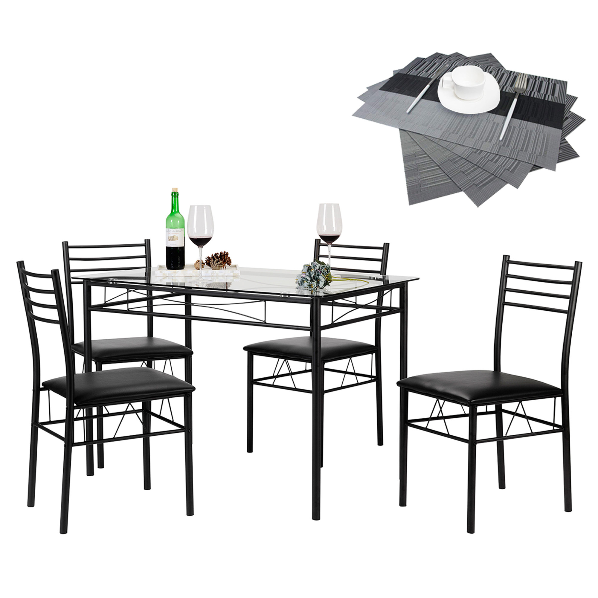 North Reading 5 Piece Dining Table Set Intended For Well Known North Reading 5 Piece Dining Table Sets (Gallery 2 of 20)