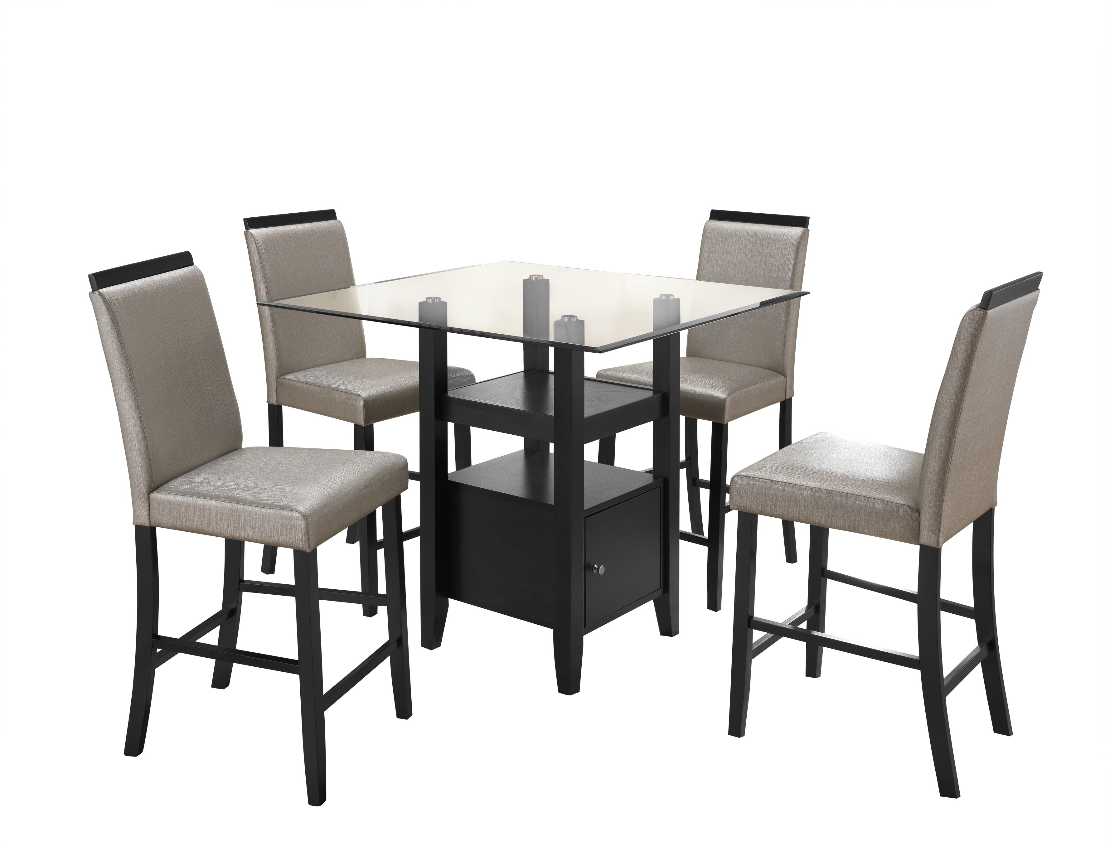 Noyes 5 Piece Dining Sets In Preferred Stukes 5 Pieces Dining Set (View 10 of 20)