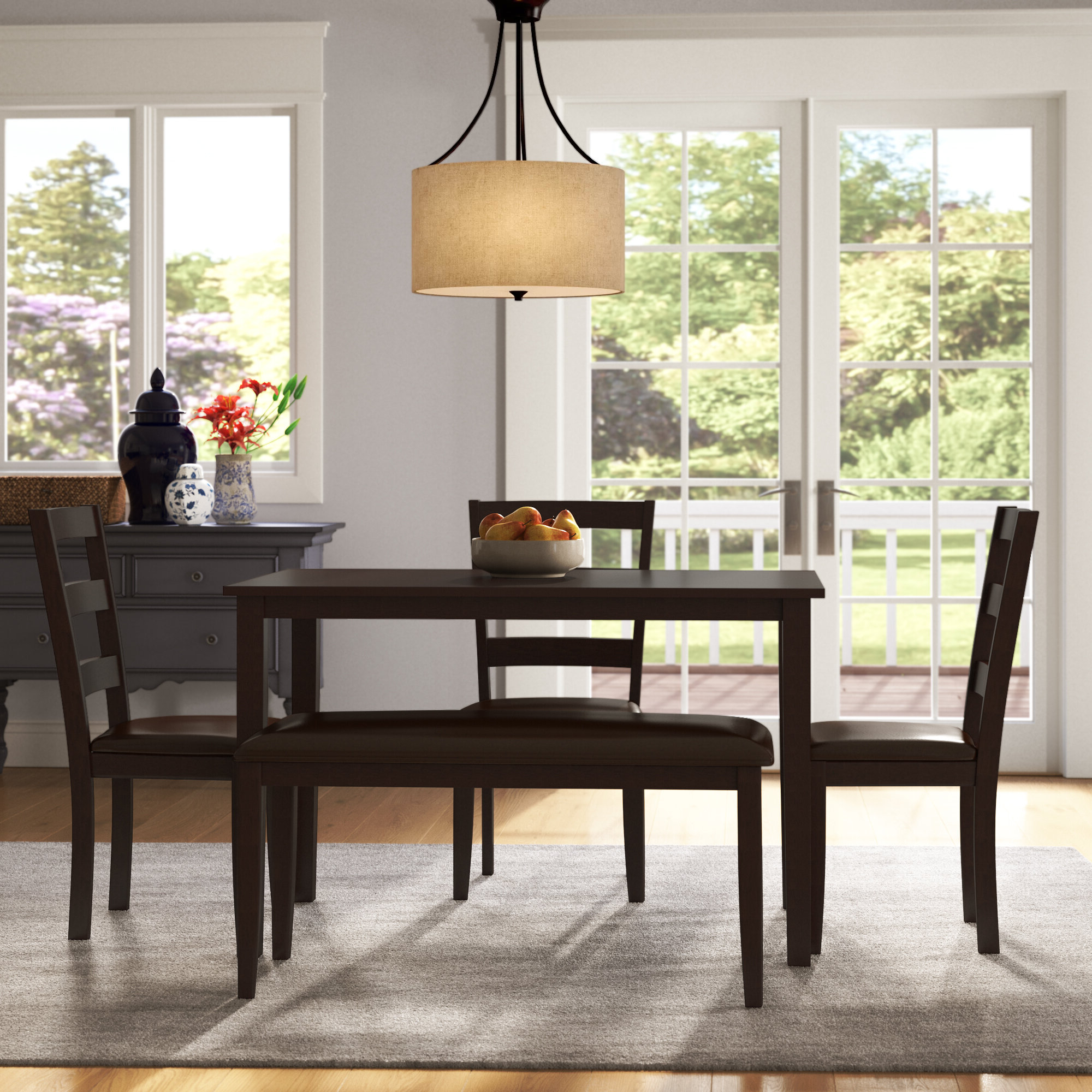 Oak Brook 5 Piece Dinning Set In Most Recently Released Kaelin 5 Piece Dining Sets (View 16 of 20)