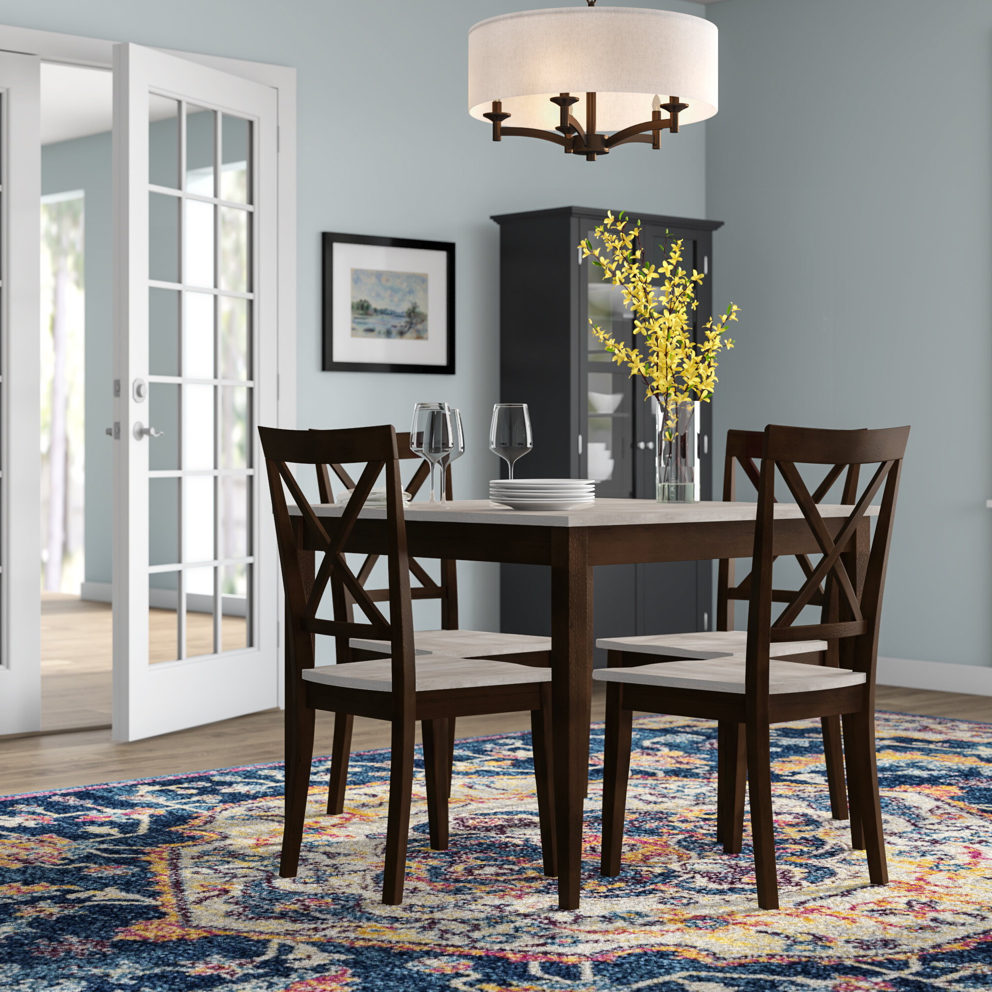 Partin 3 Piece Dining Sets Regarding Recent Small Dining Sets You'll Love In (View 14 of 20)