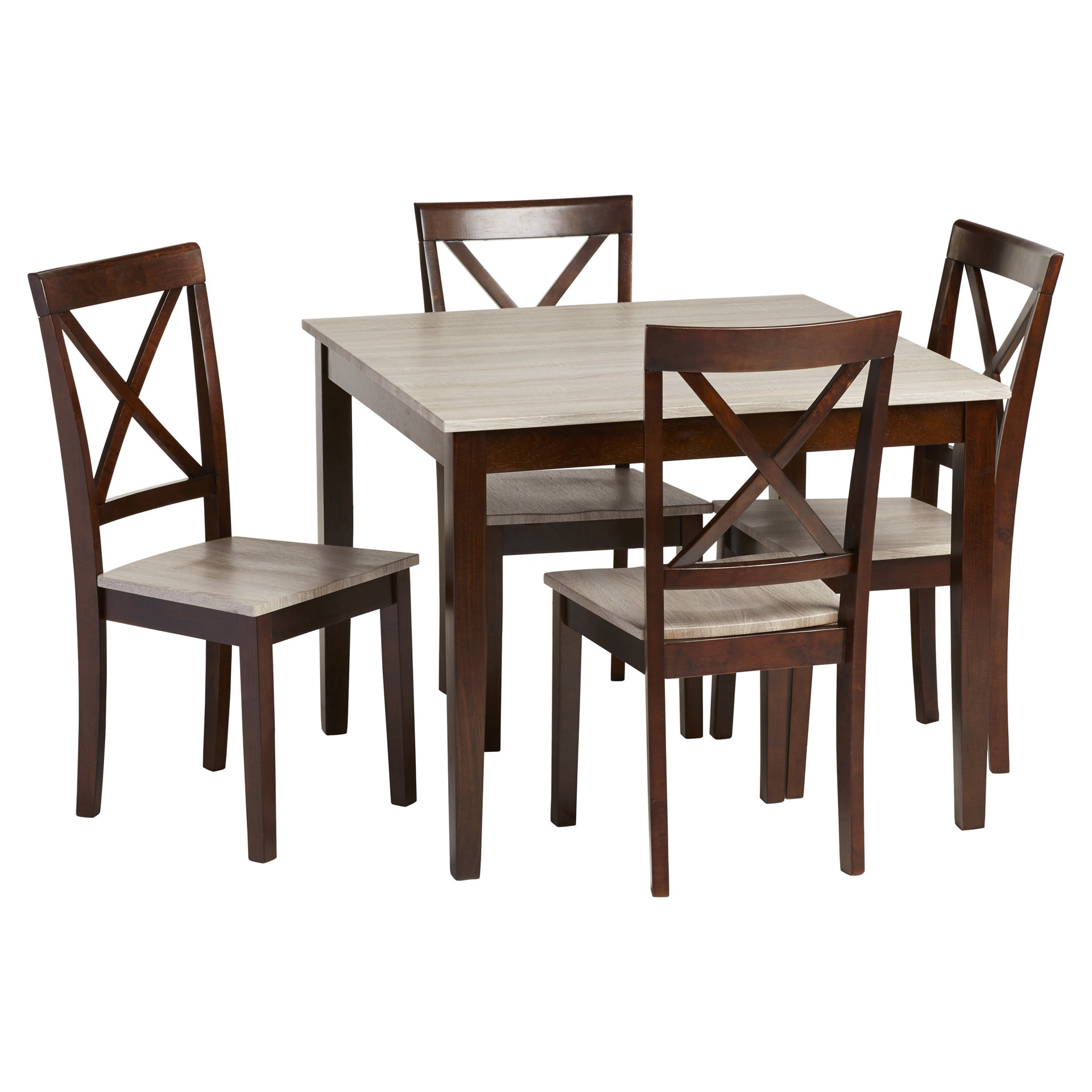 Pattonsburg 5 Piece Dining Sets For Latest Tilley Rustic 5 Piece Dining Set (View 7 of 20)