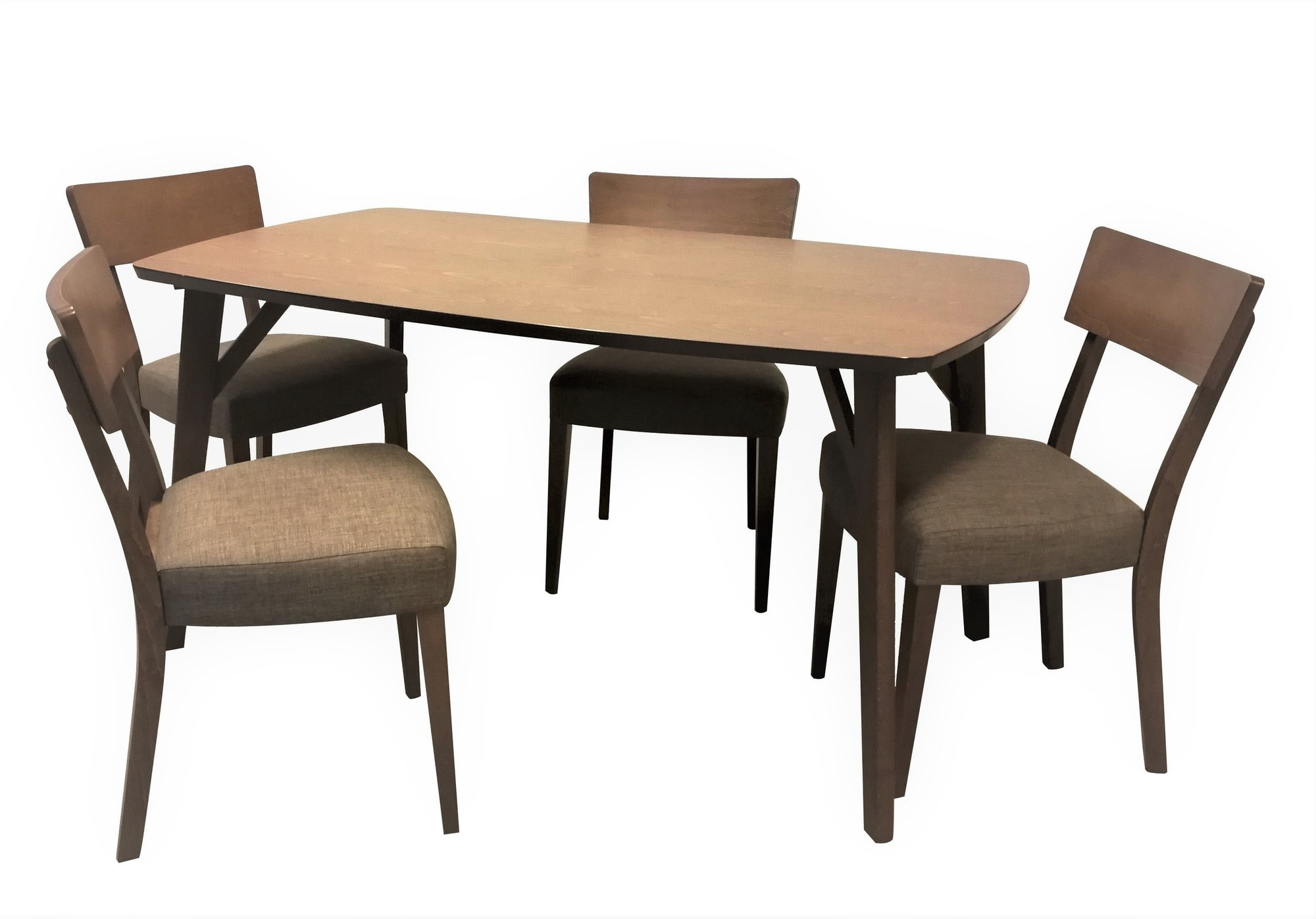 Popular Details About George Oliver Crompton 5 Piece Breakfast Nook Dining Set Regarding 5 Piece Breakfast Nook Dining Sets (View 14 of 20)