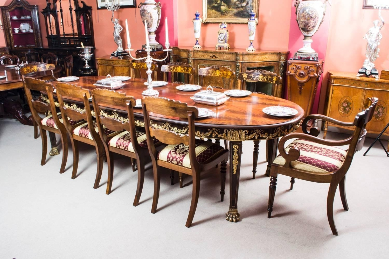 Popular The Best Dining Table And 10 Chairs In Pratiksha Sonoma 5 Piece Dining Sets (View 9 of 20)