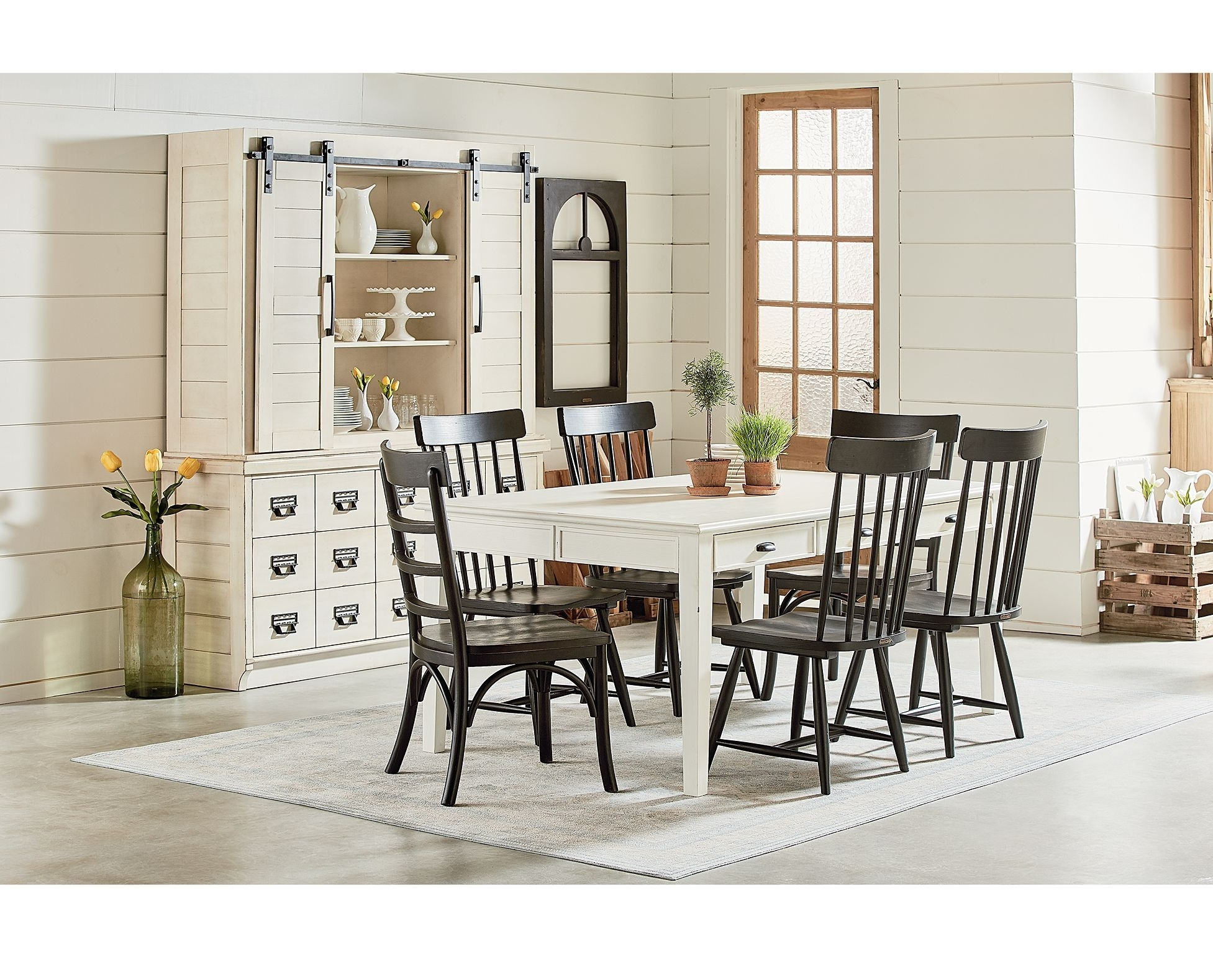 Pratiksha Sonoma 5 Piece Dining Sets With 2017 The Best Magnolia Home Array Dining Tablesjoanna Gaines (View 14 of 20)