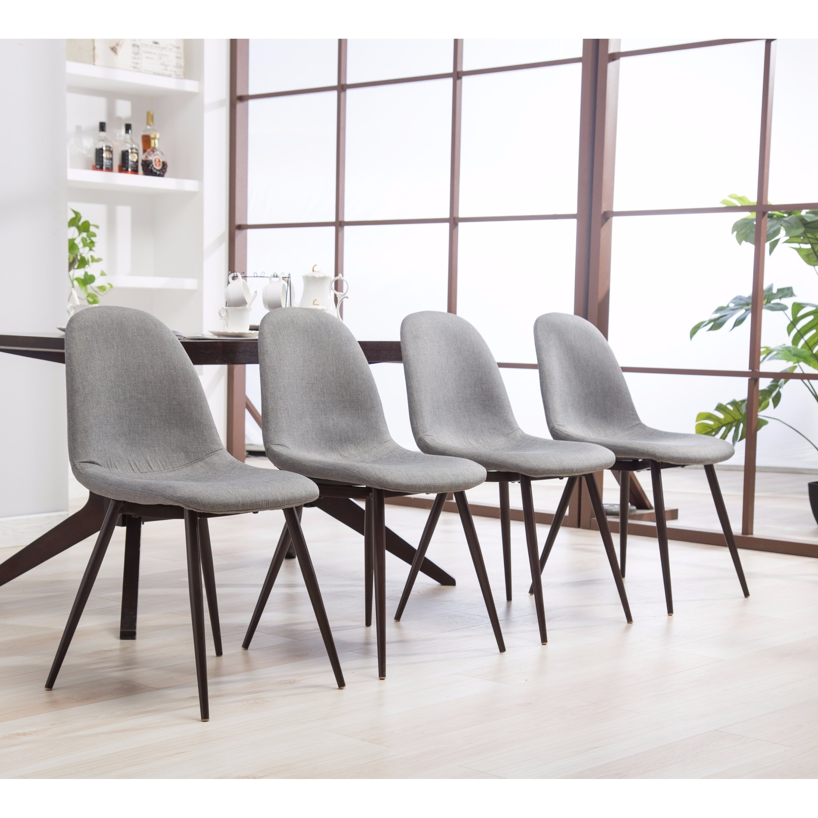 Preferred 25 Ideas Of Caden 6 Piece Dining Sets With Upholstered Side Chair With Pratiksha Sonoma 5 Piece Dining Sets (View 16 of 20)