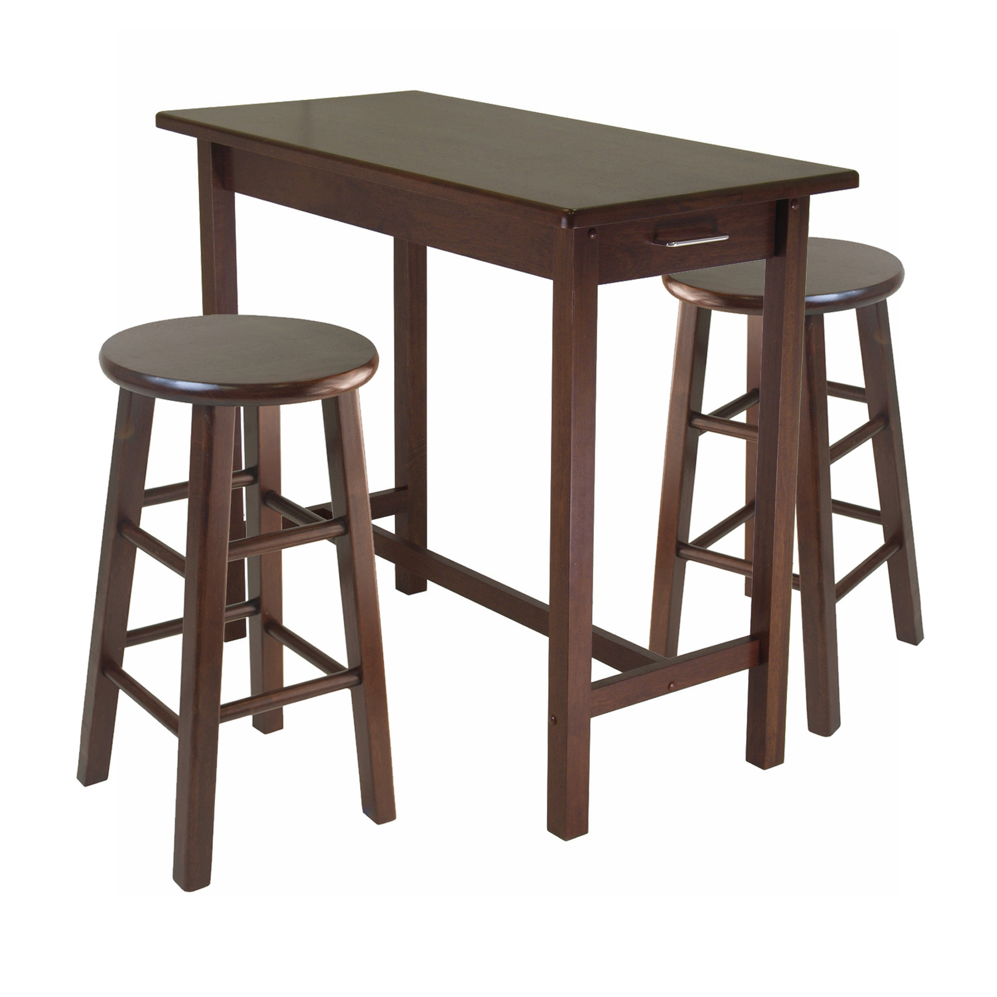 Preferred 3 Piece Breakfast Dining Set Throughout Miskell 3 Piece Dining Sets (View 12 of 20)