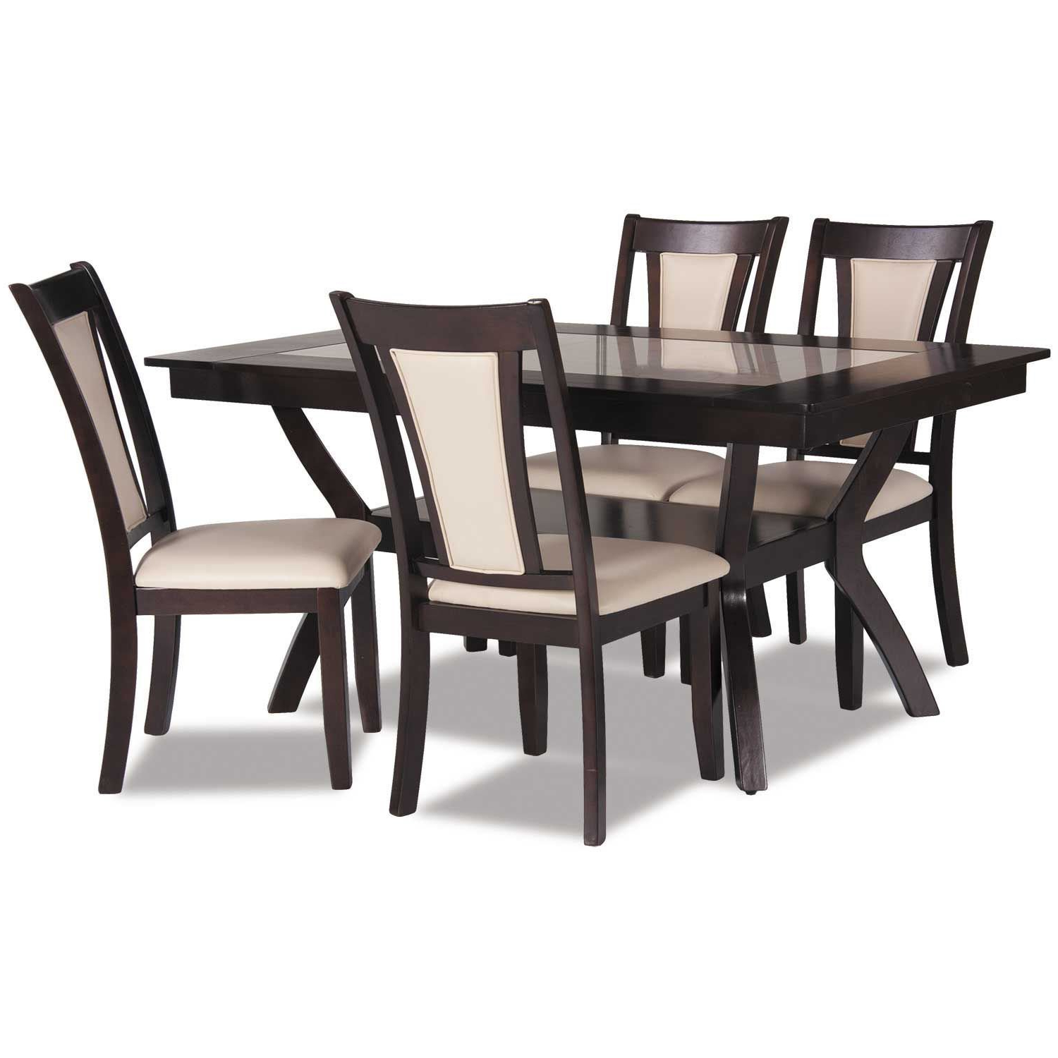 Preferred 5 Piece Dining Sets With Regard To Reno 5 Piece Dining Set (View 15 of 20)