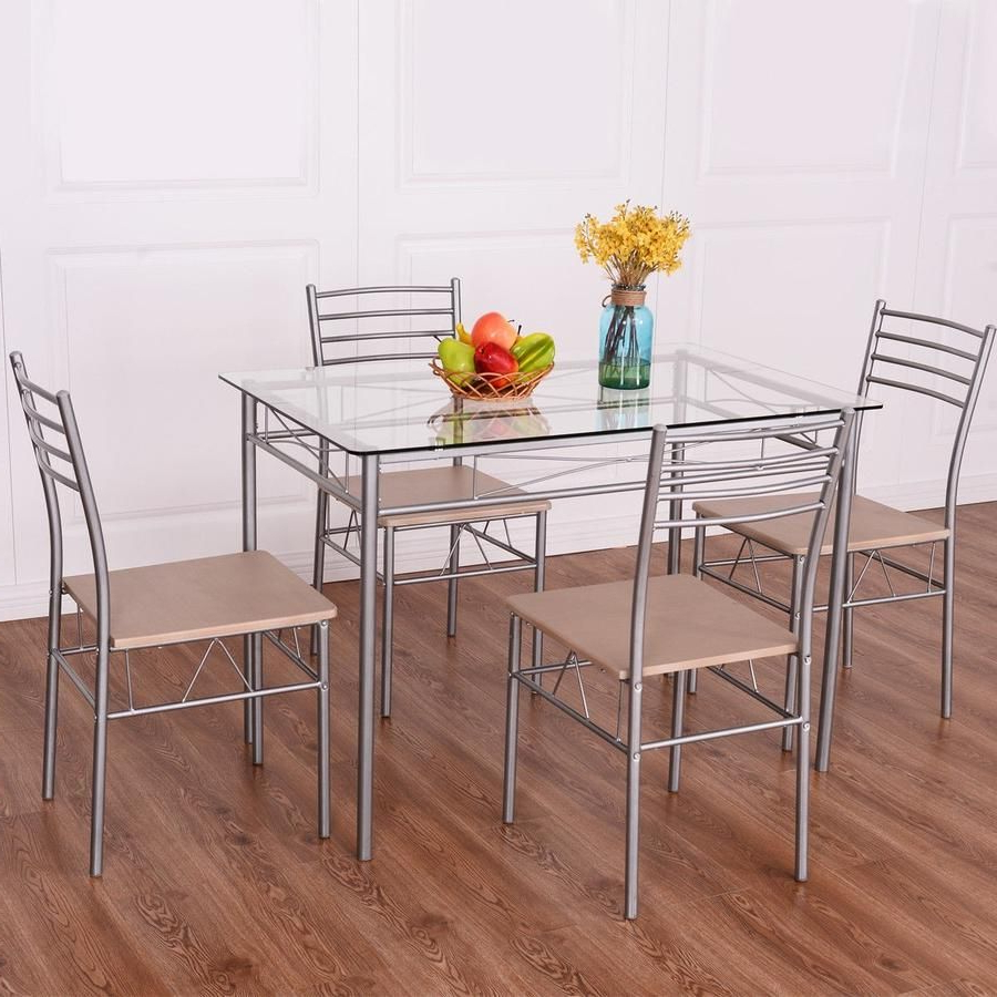 Preferred Haines 5 Piece Dining Set In (View 6 of 20)