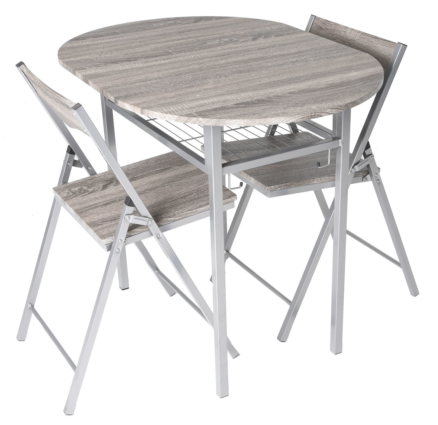 Preferred Horner Wood 3 Piece Drop Leaf Breakfast Nook Dining Set Within Honoria 3 Piece Dining Sets (View 3 of 20)