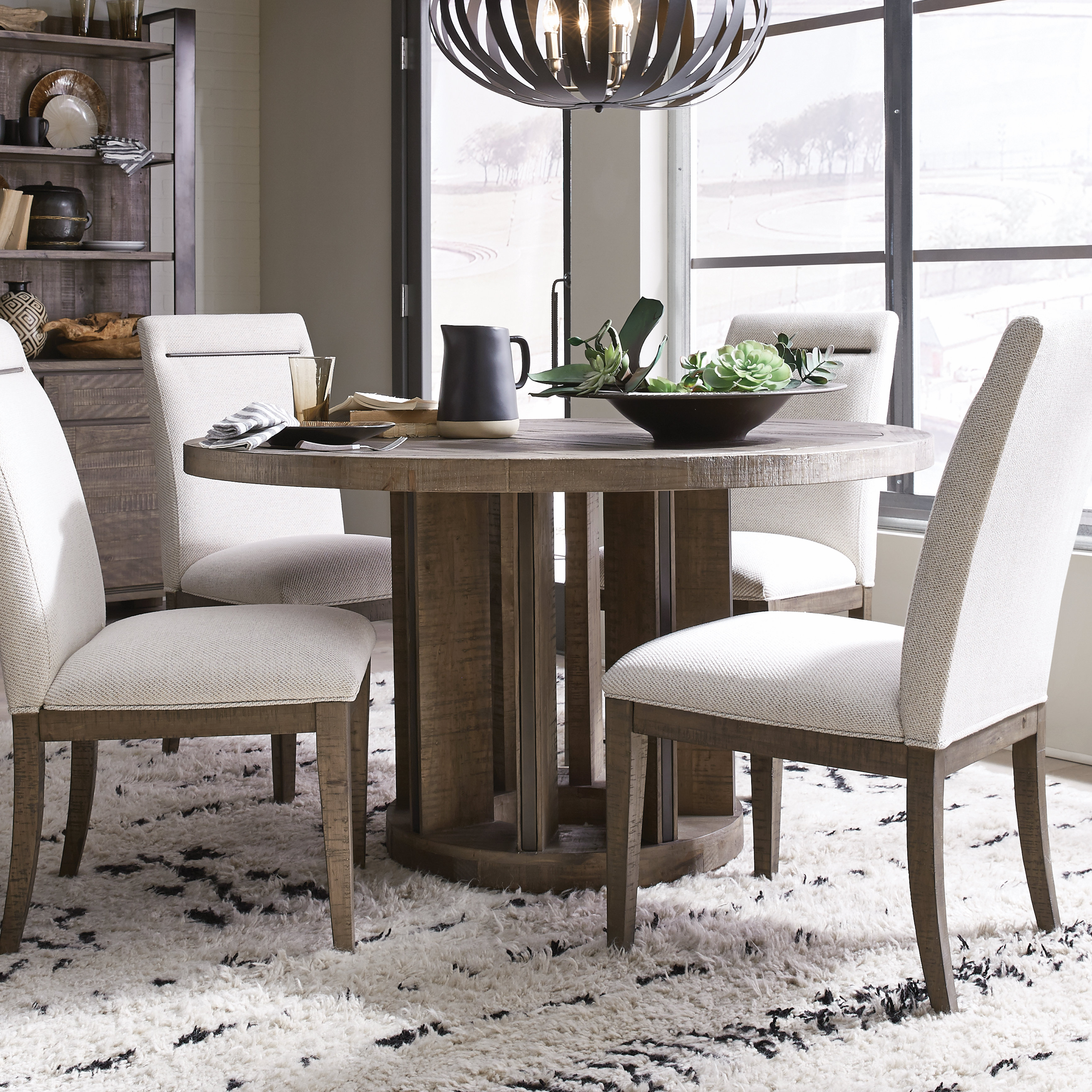 Preferred Sundberg 5 Piece Solid Wood Dining Sets For Norah 5 Piece Solid Wood Dining Set (View 11 of 20)